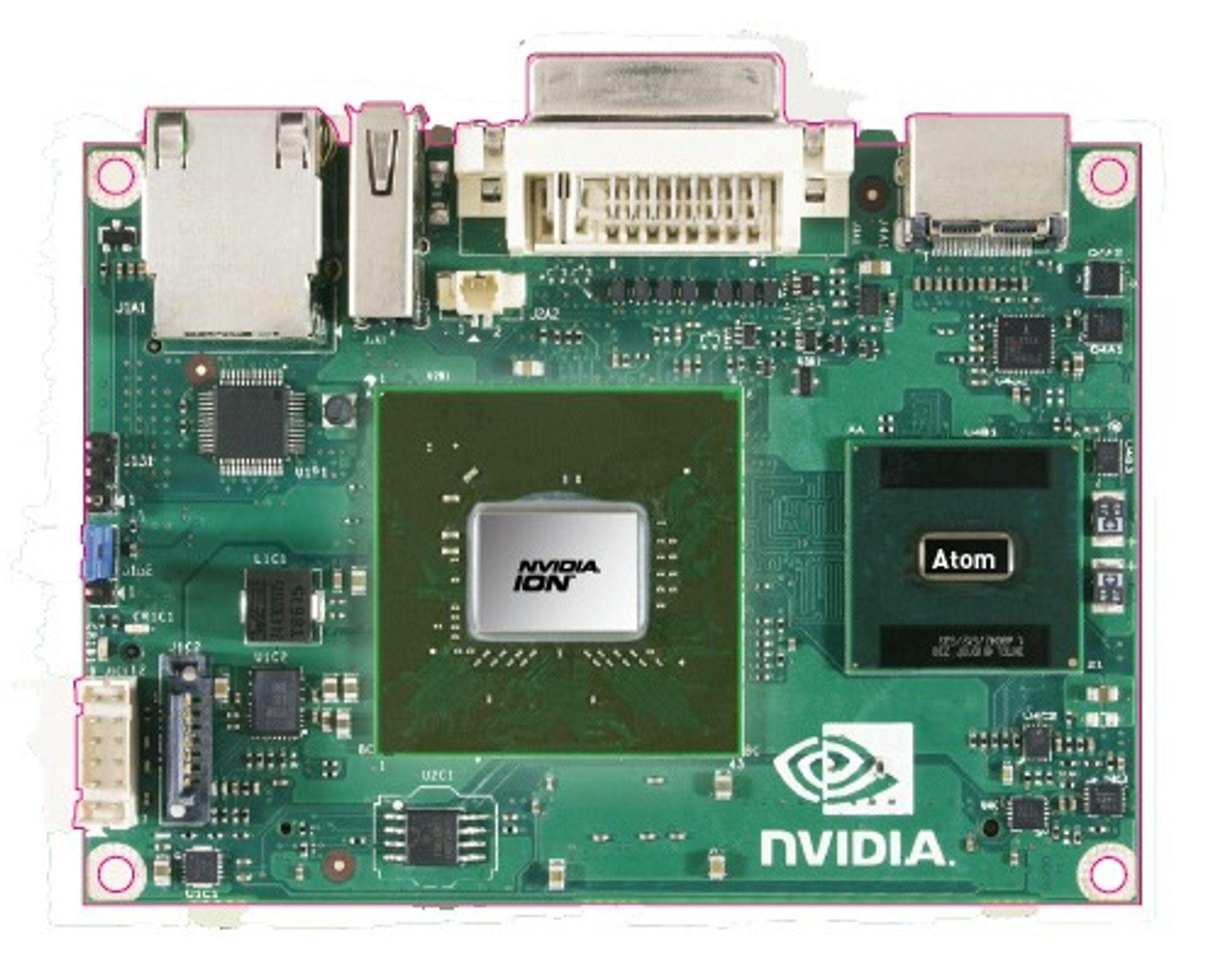 Nvidia Ion-basert hovedkort