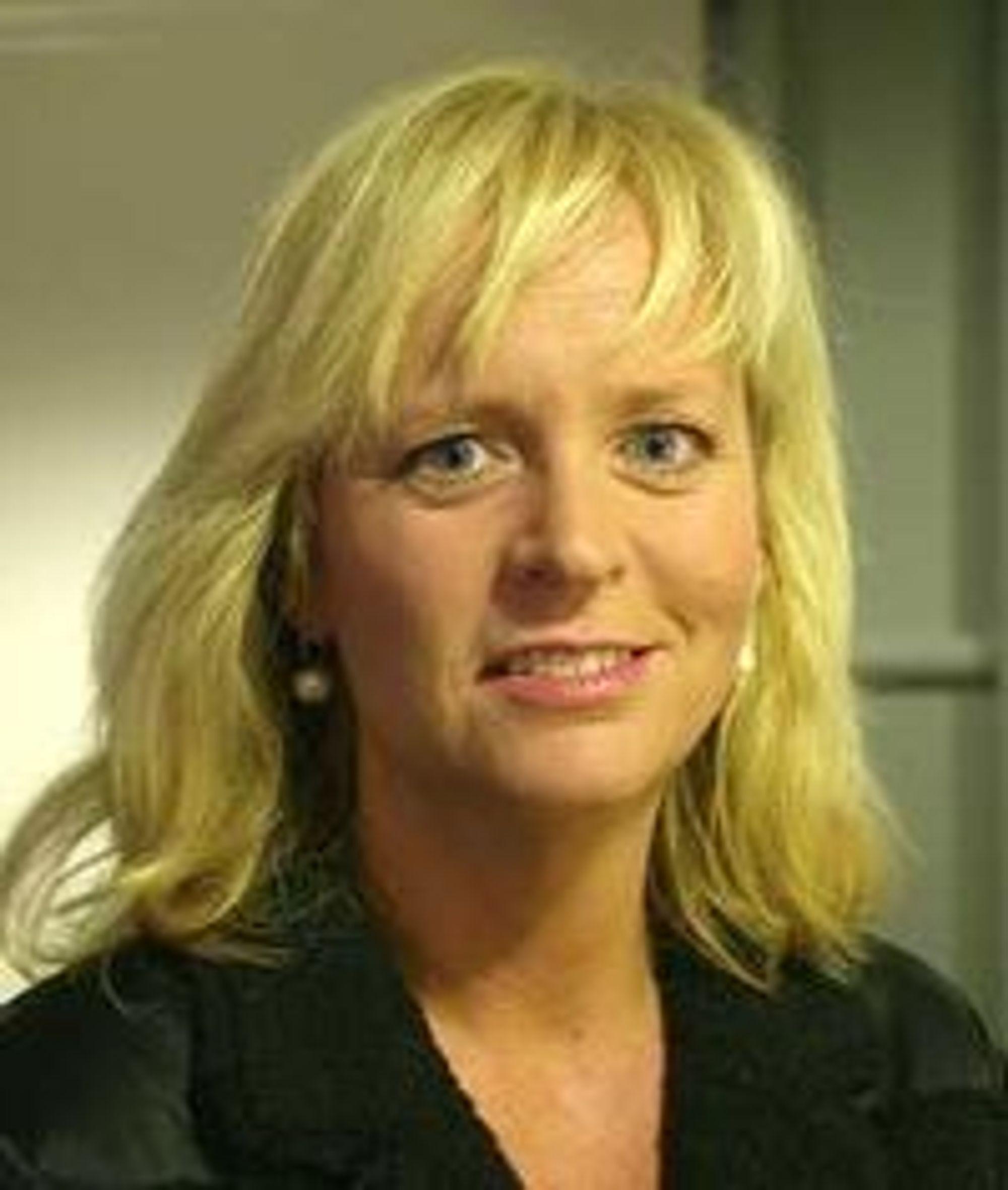 Christine Korme i Microsoft Norge.