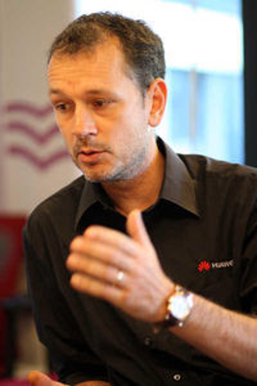 Anders Ljunggren, nordensjef i Huawei og ansvarlig for selskapets forretningssamarbeid med Telenor.