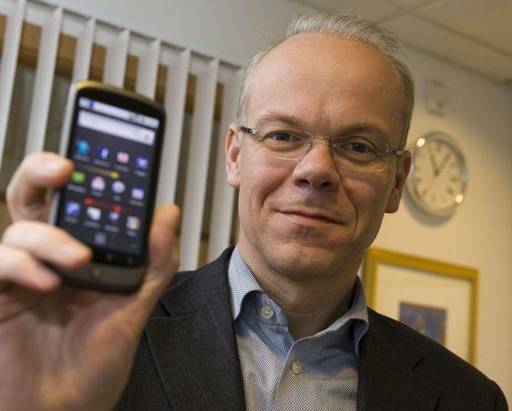 Google Norge-sjef Jan Grønbech er blant de som kan glede seg over ny Android-versjon på sin Nexus One denne uken.