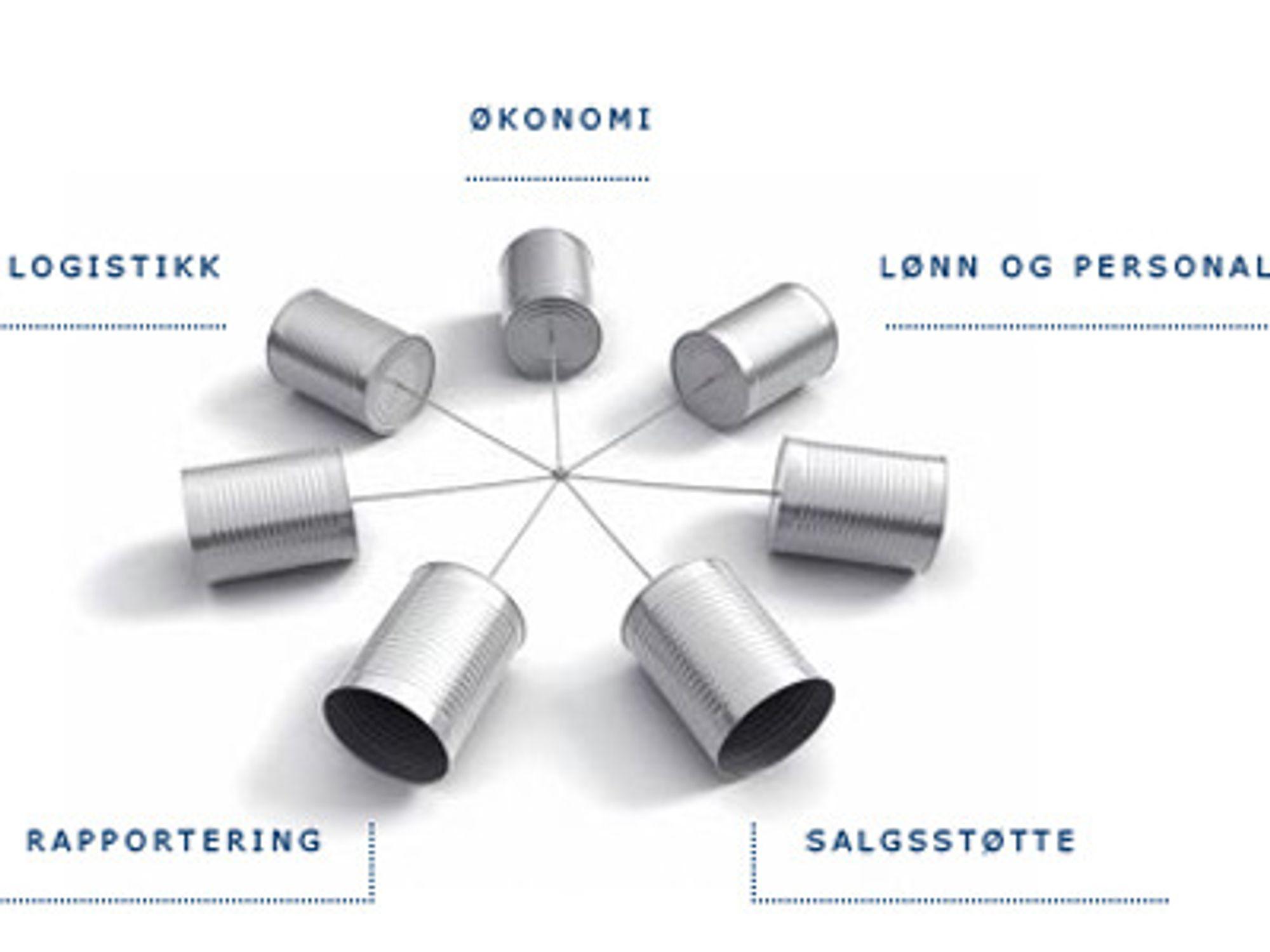 Dette er funksjonene som Amesto legger inn i begrepet virksomhetsstyring.