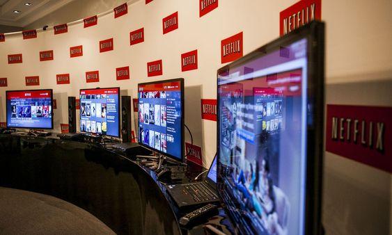 De fleste Netflix-brukerne benytter seg av en TV via spillkonsoll. Playstation 3 er mest populær. Bildet er fra onsdagens presentasjon.