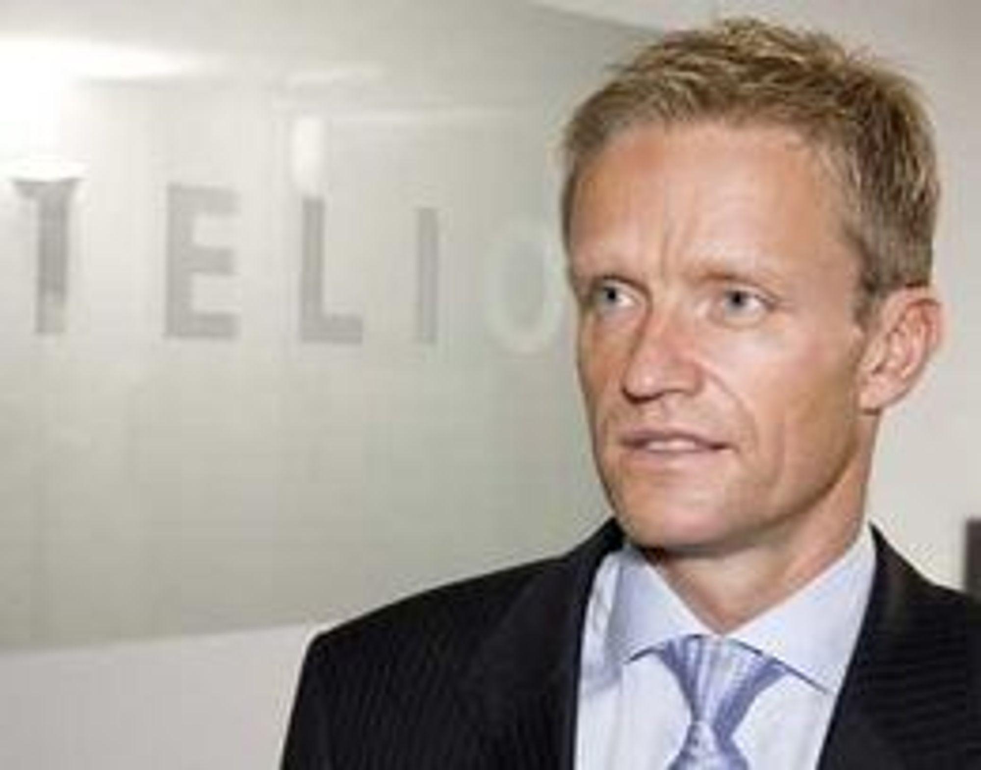 Telio-sjef Eirik Lunde opplever akselert vekst i antall kunder.