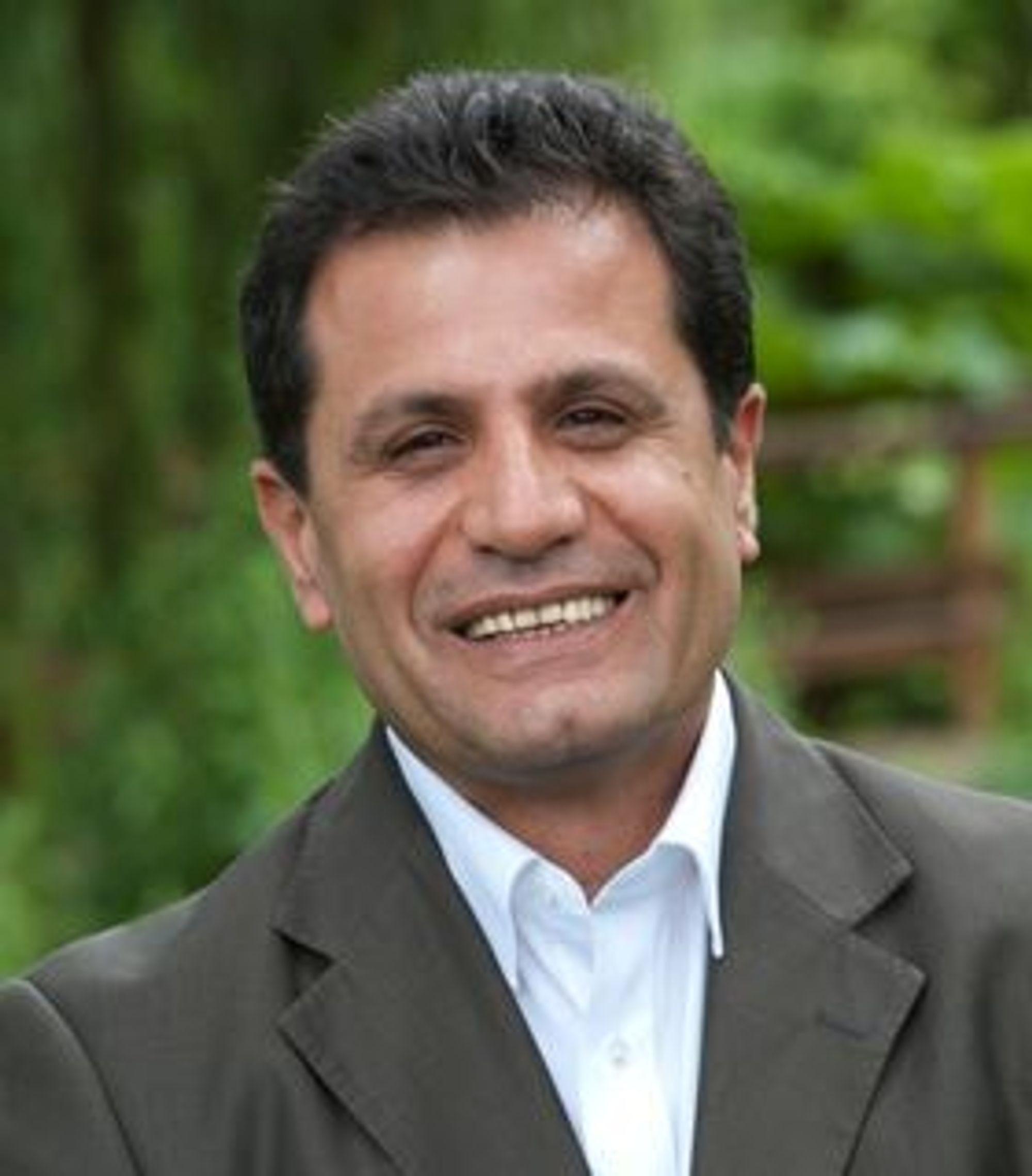 Forsker på 5G: Professor Rahim Tafazolli.