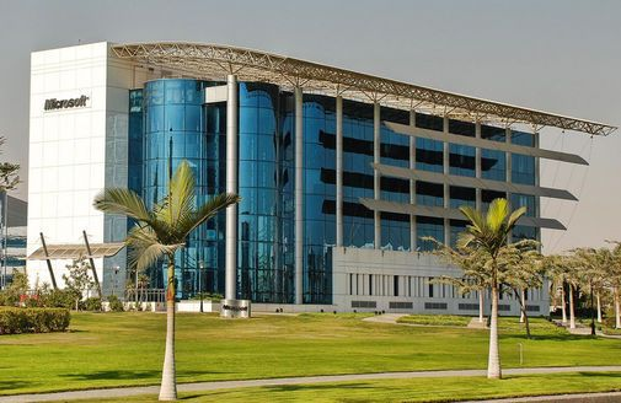 Microsofts hovedkontor i Egypt.