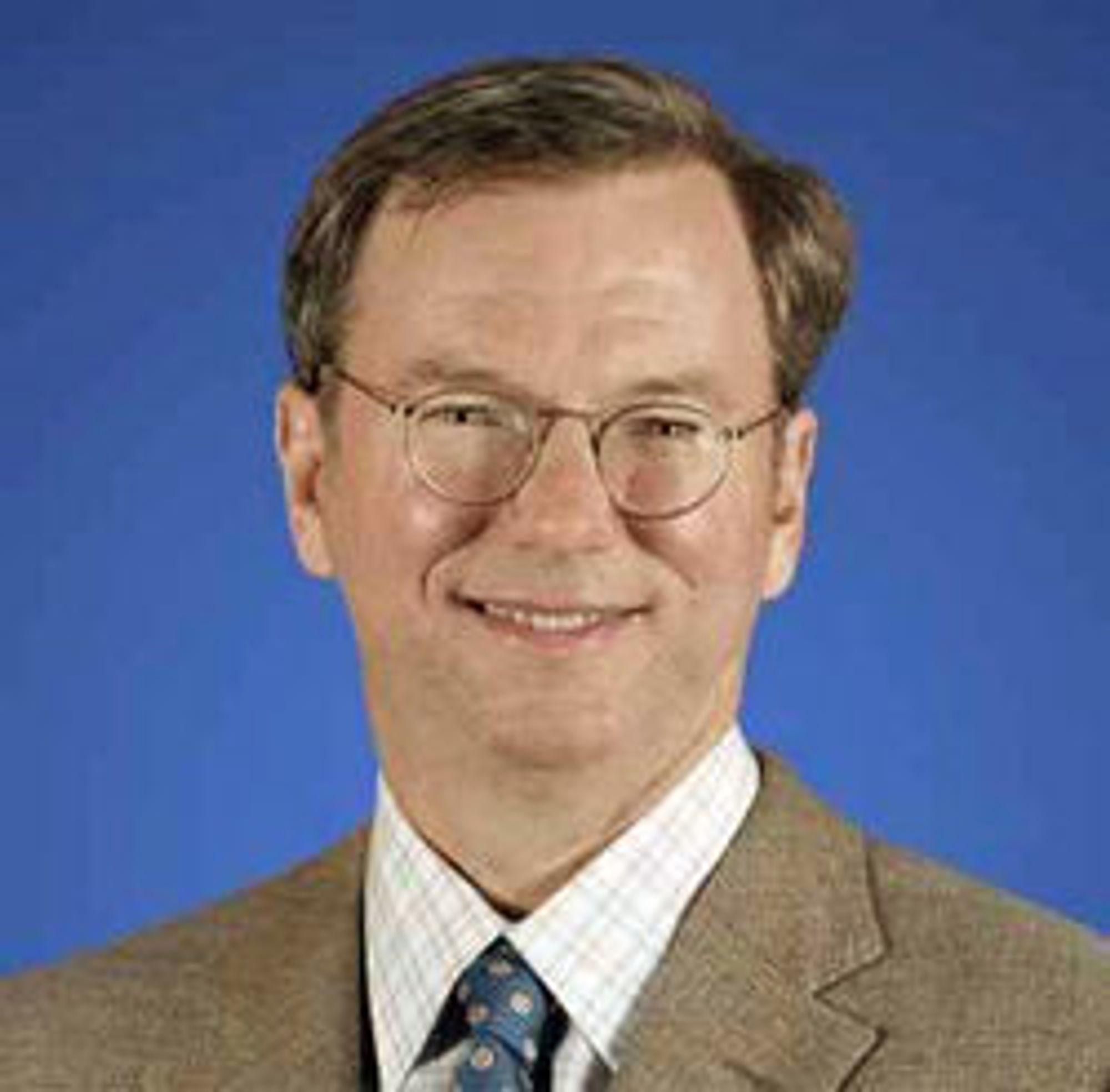 Eric Schmidt har vært toppsjef i Google i ti år.