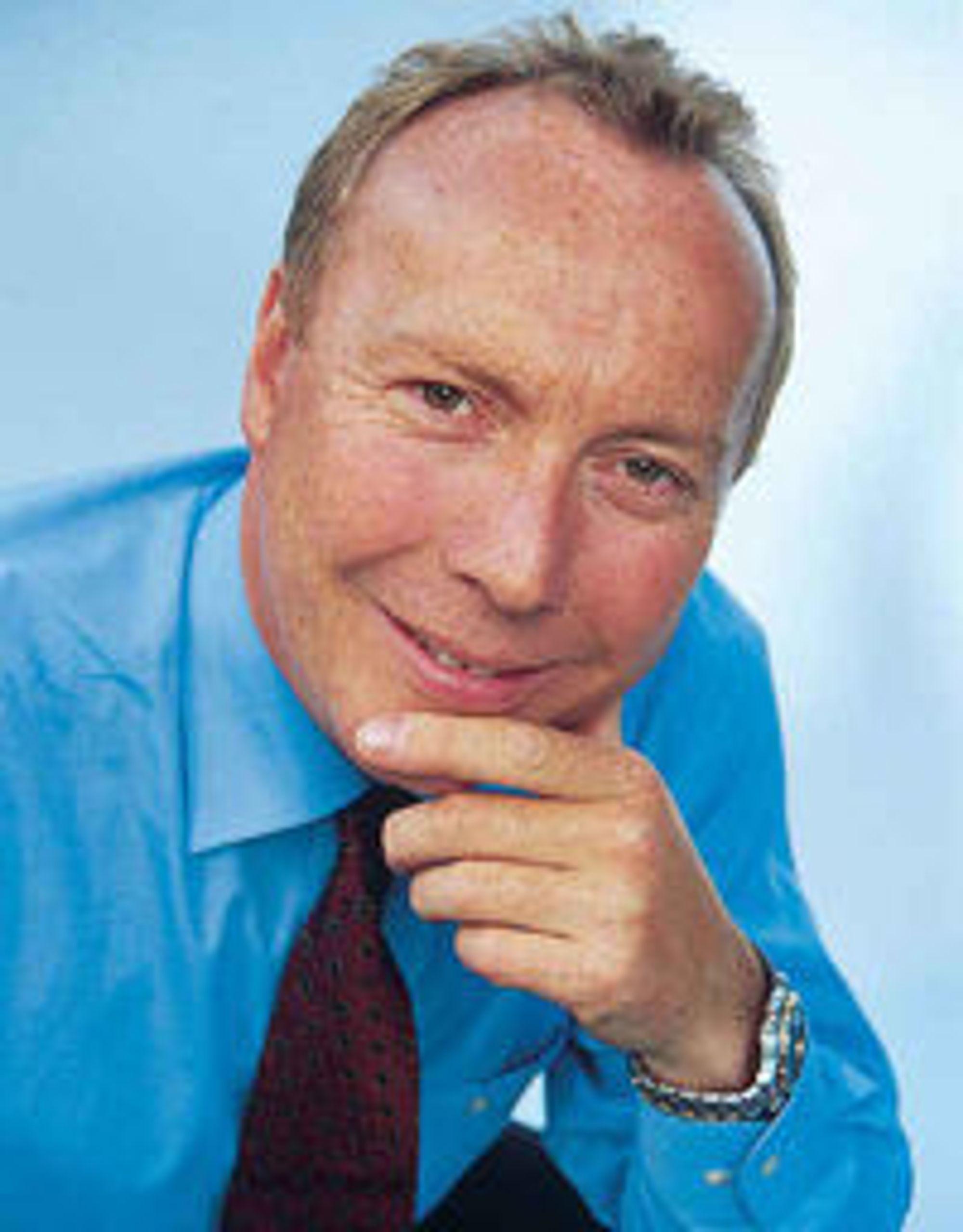 Rykker opp i Sterias internasjonale toppledelse: Kjell Rusti.