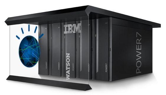 Watson kjøres på 90 fireveis Power7-servere.