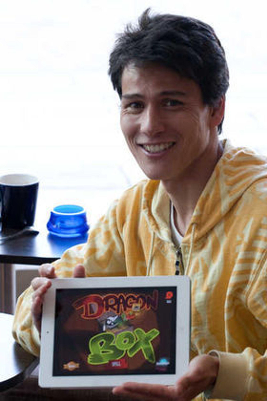 LYSTBASERT LÆRING: Matematikk-lektor og IT-gründer Jean Baptiste Huyhn satser på spill.