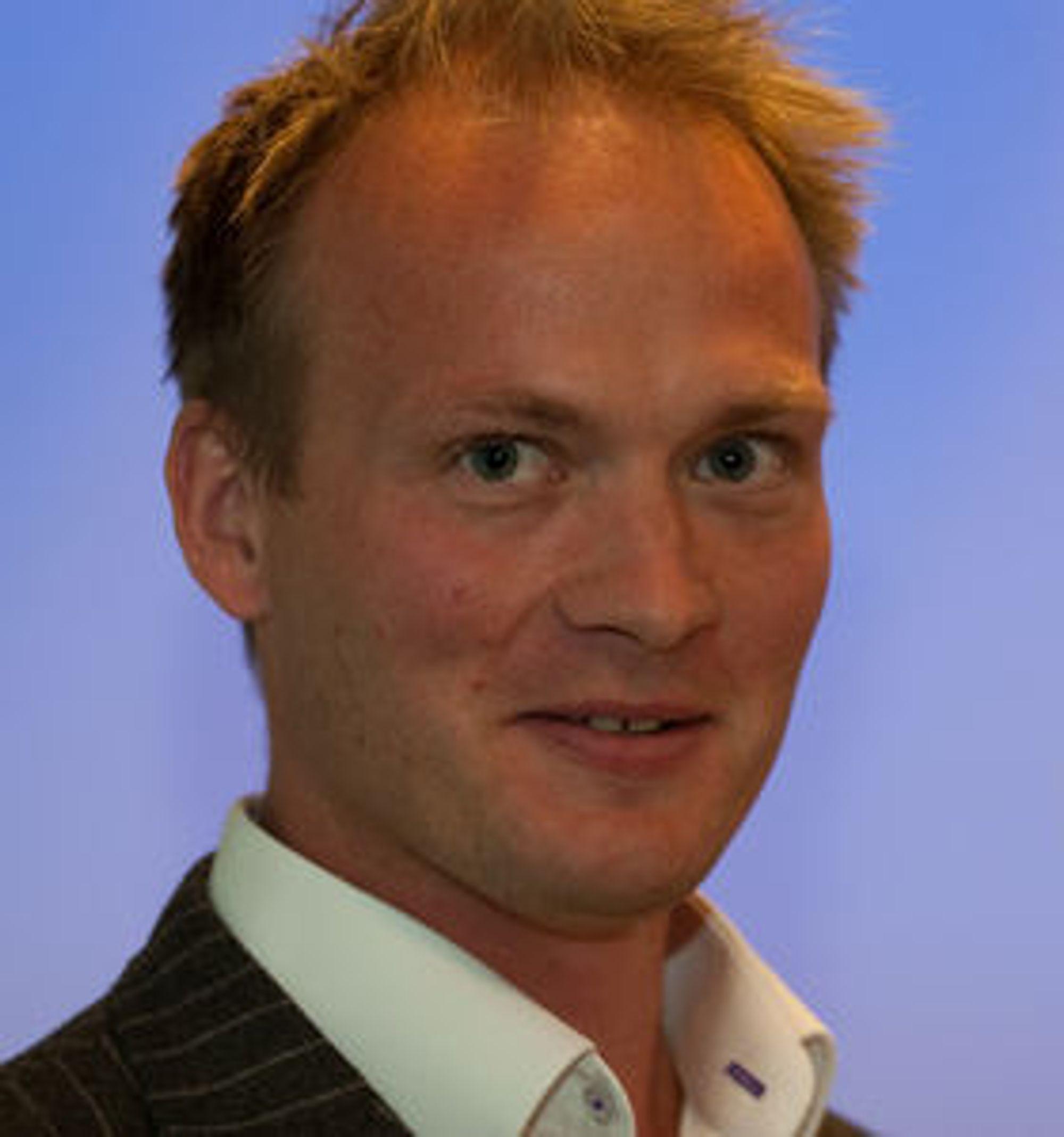 PÅ OFFENSIVEN: - Vi konkurrerer med aktører som Adobe og Oracle, sier teknologidirektør Bård Farstad i eZ Systems.