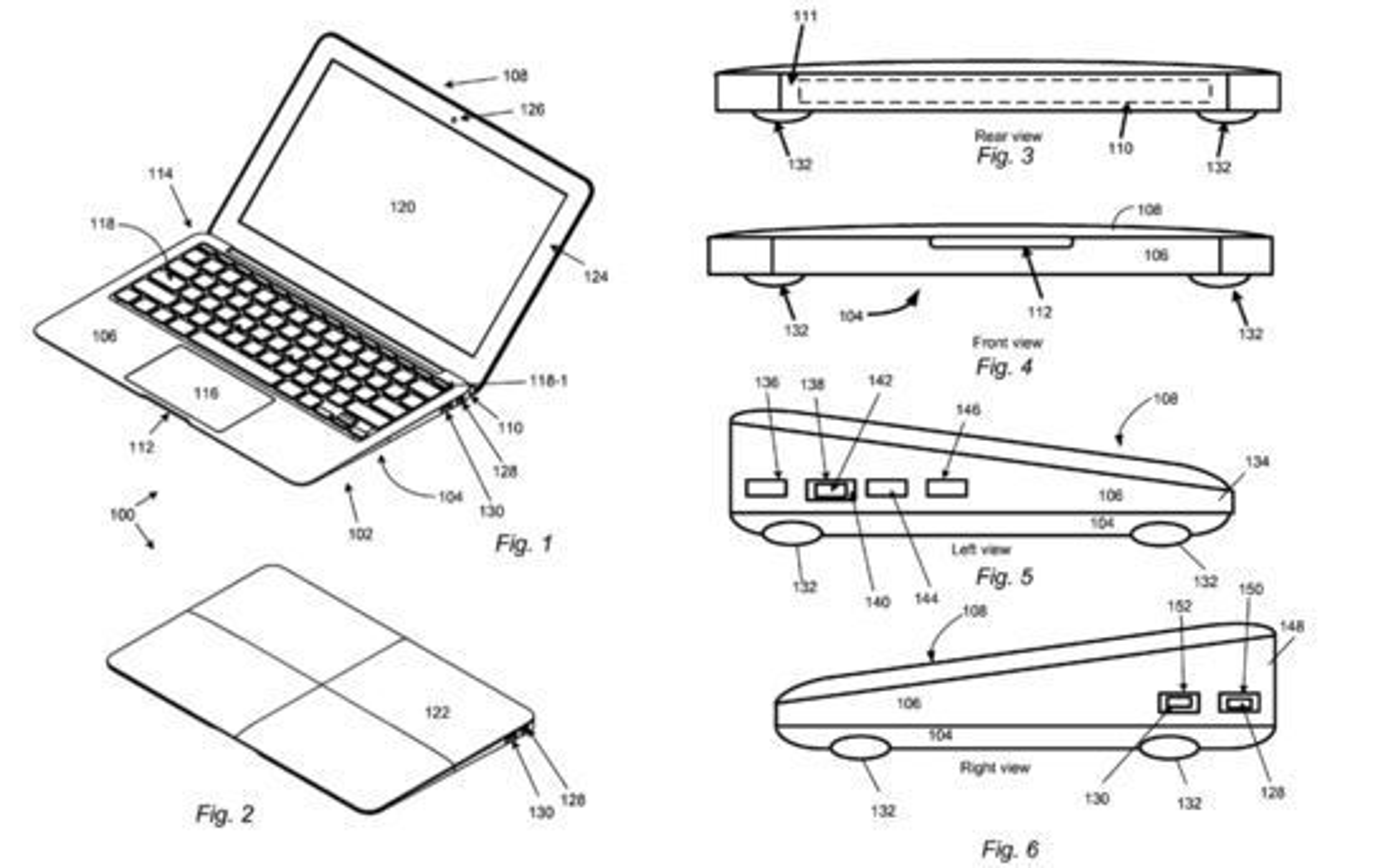 Patentsøknaden til Apple kan i teorien (dersom den innvilges) bli brukt til å stanse salg av Macbook Air-kloner, ifølge Wired.