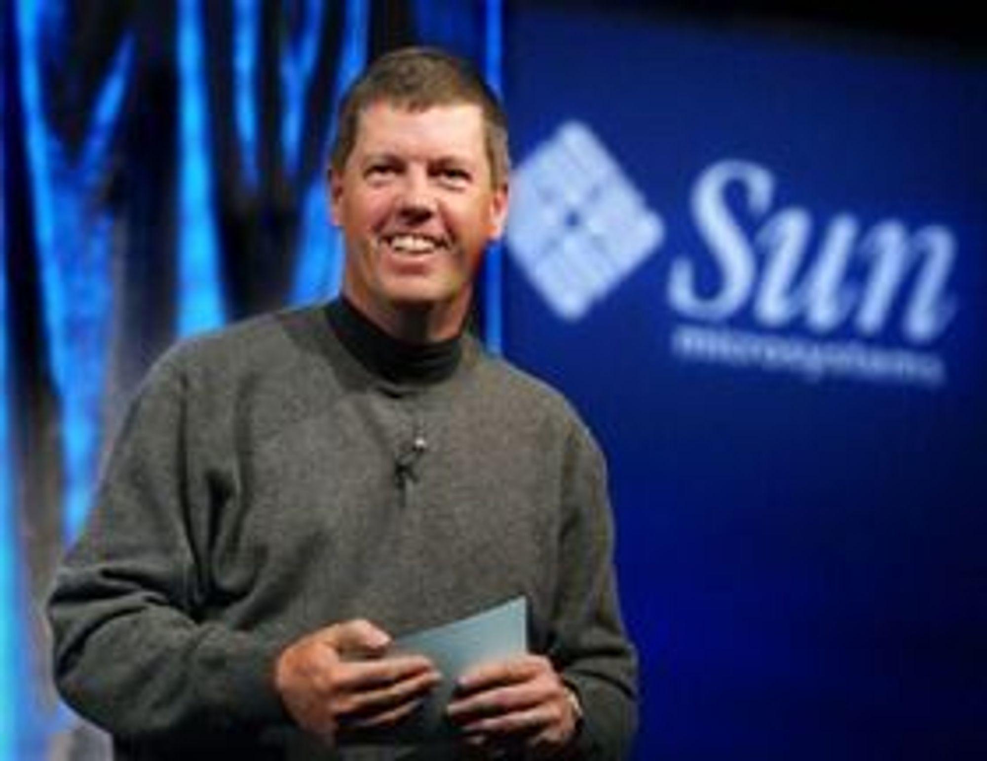 Scott McNealy var med på å grunnlegge Sun i 1982 og var selskapets toppsjef og styreformann i en årrekke.