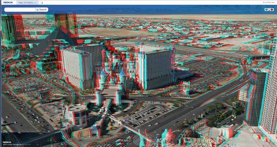 Flere av de kjente kasinoene i Las Vegas.