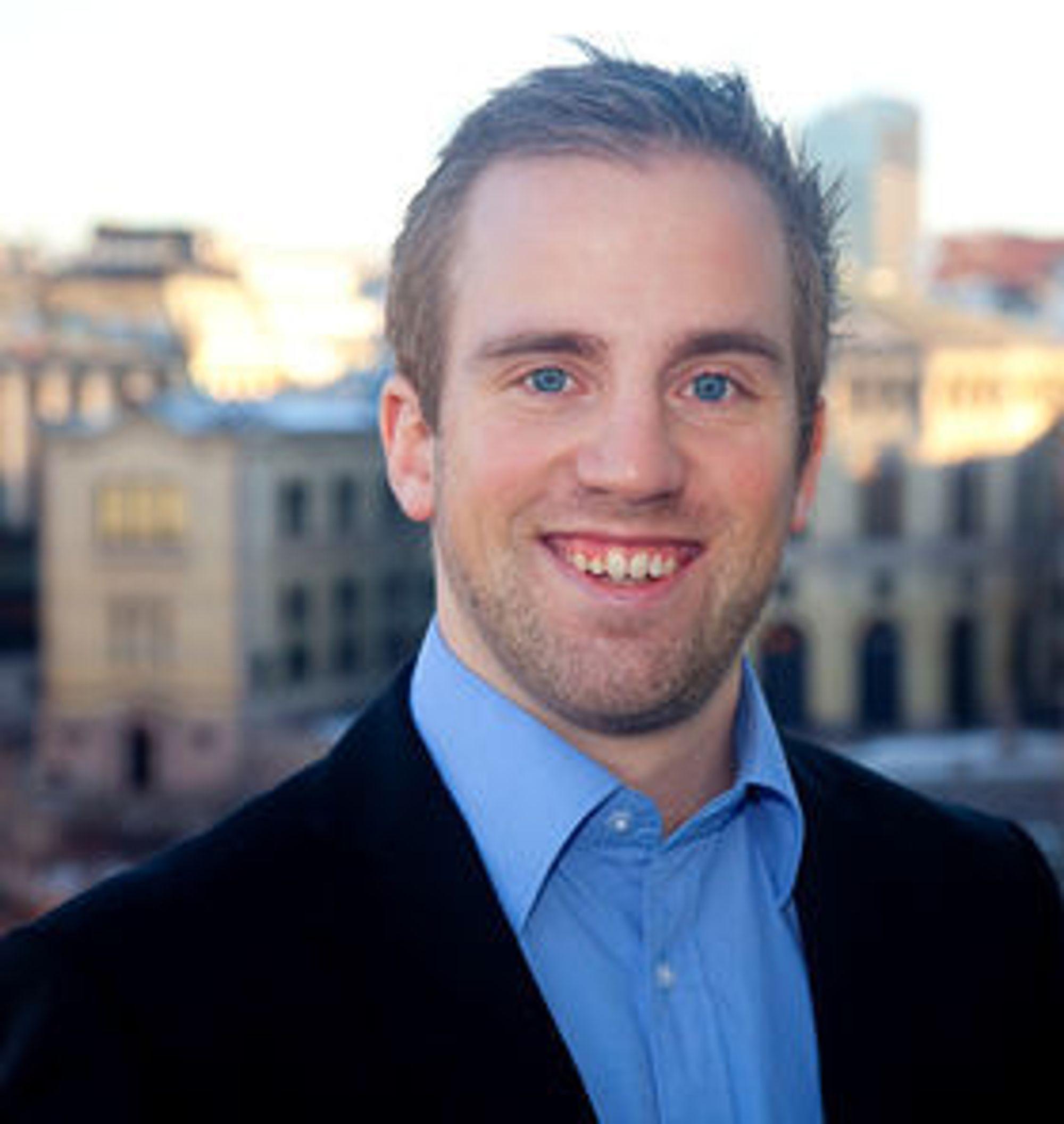 Christian Teien Sørensen, norgenssjef i Eurosecure.