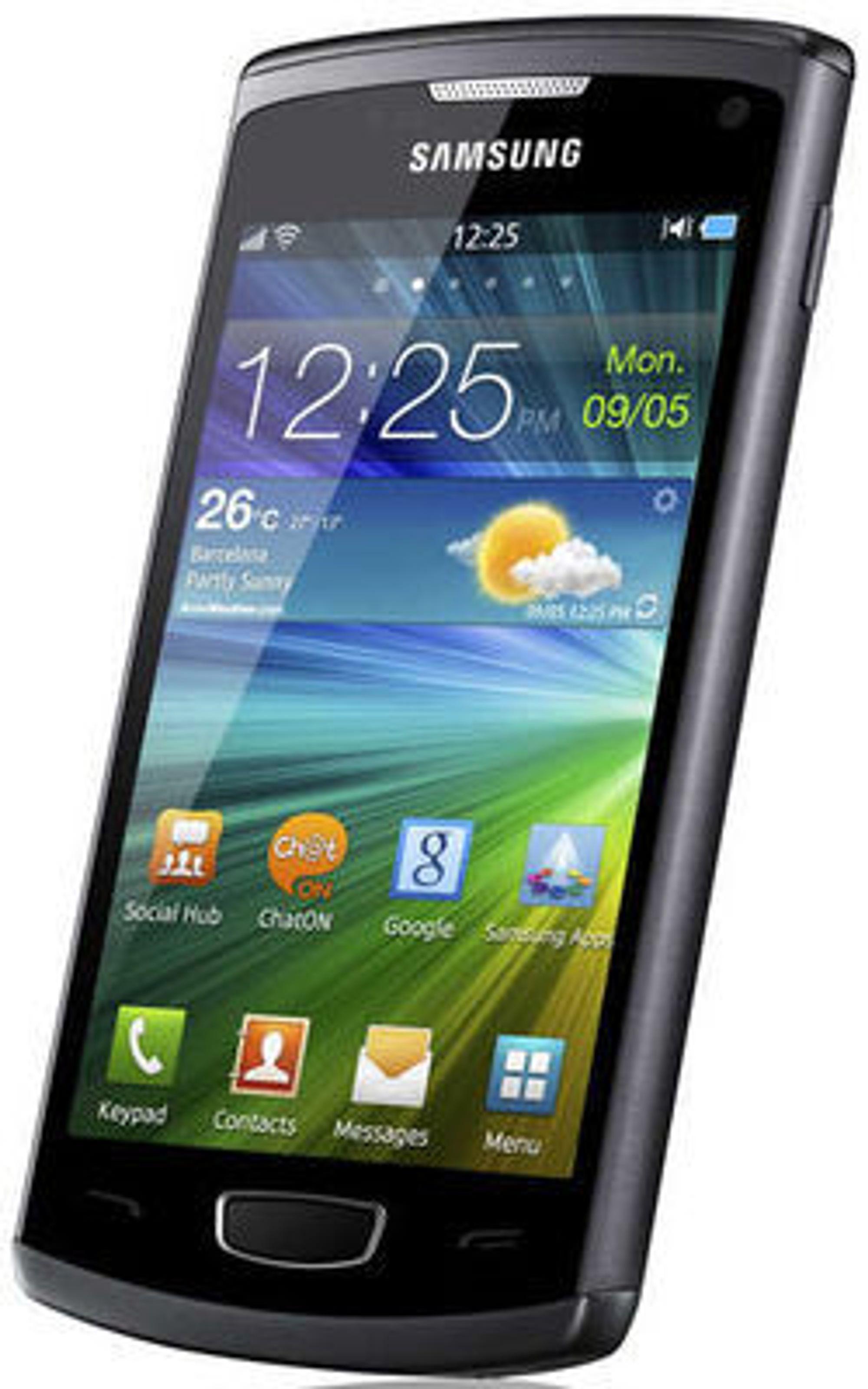 Smartmobilen Samsung Wave 3 er basert på Bada 2.0.