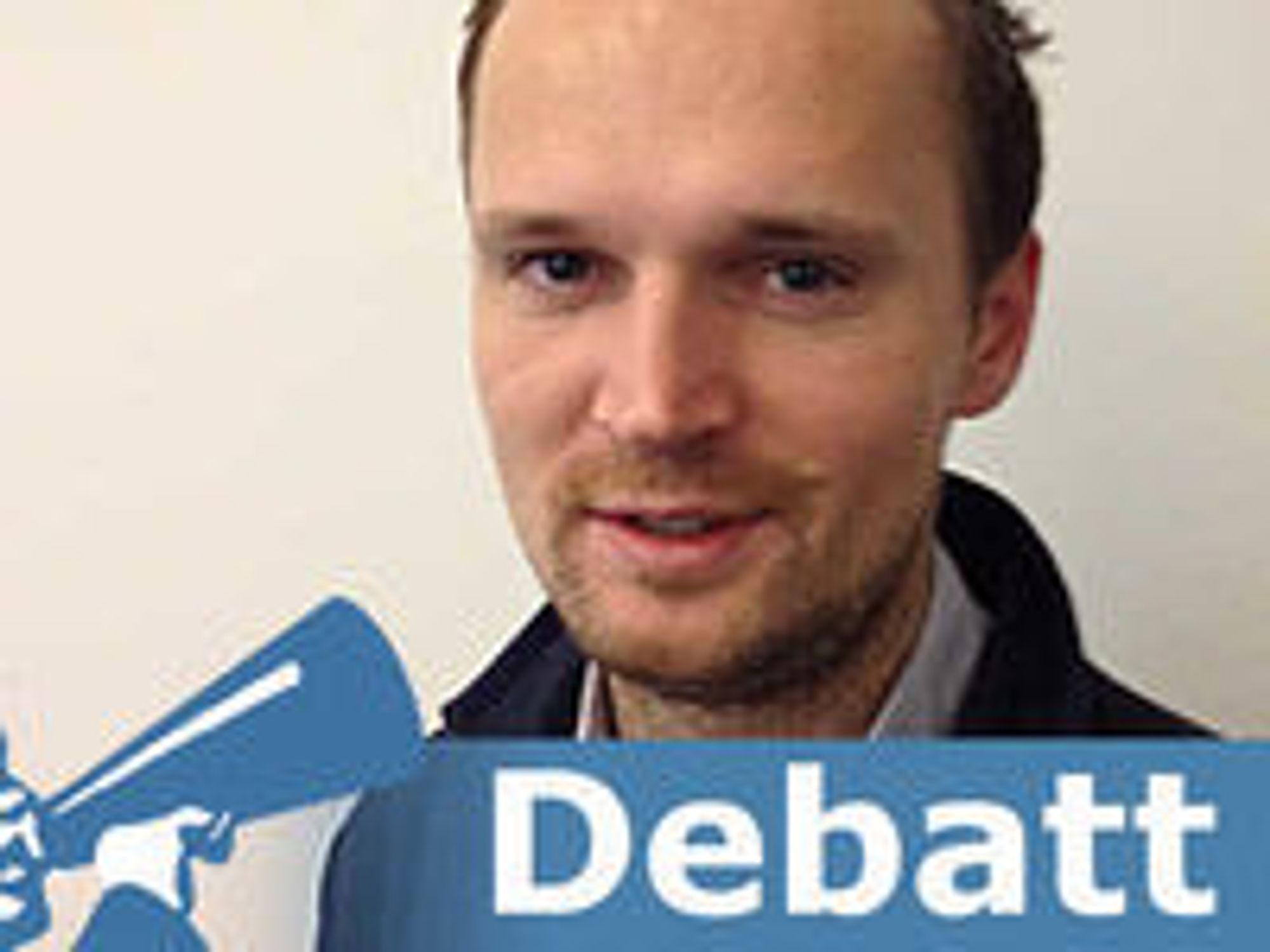 Haakon Flender er nordisk løsningsspesialist i RES Software.