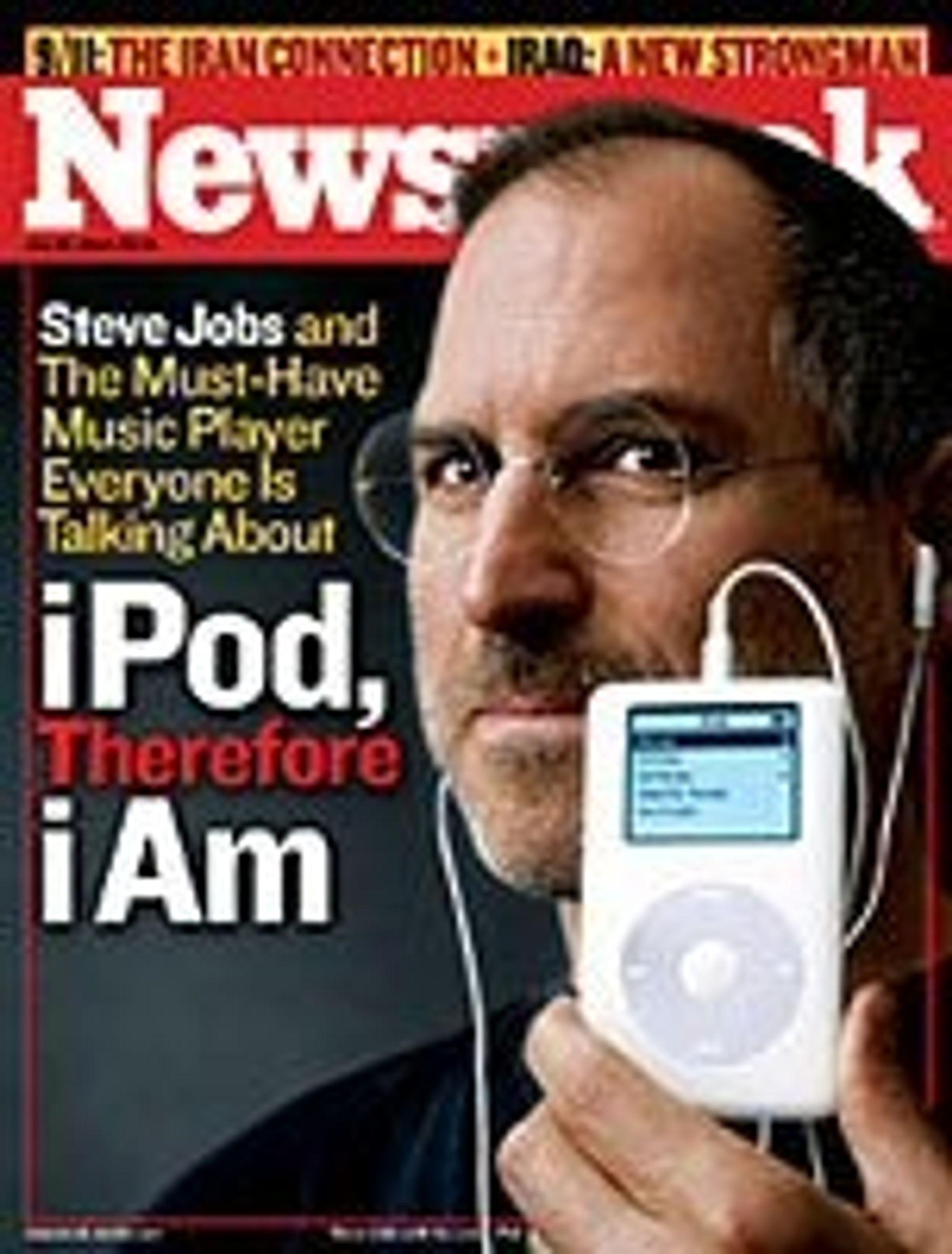 Forsiden av Newsweek 26. juli 2004.