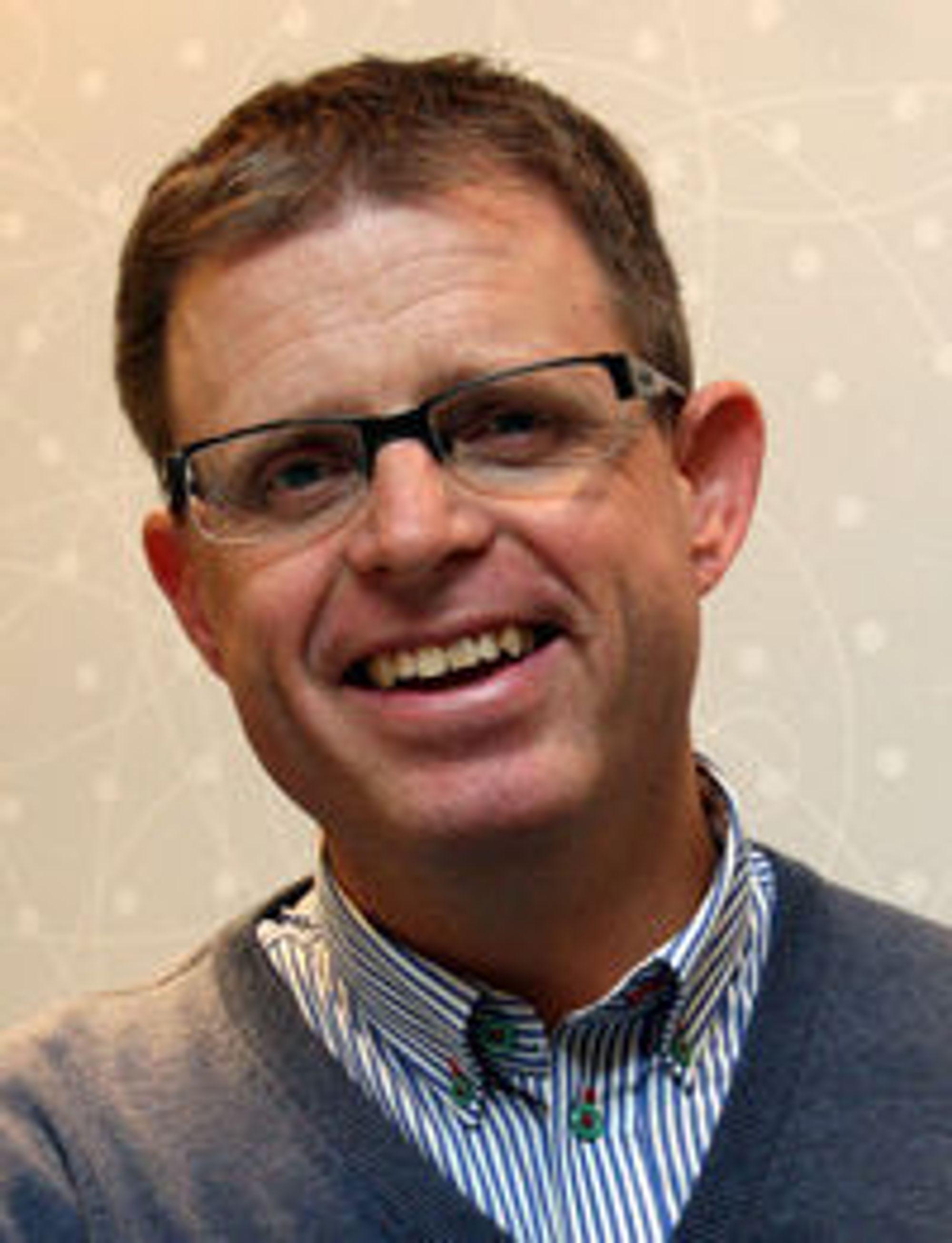 Avdelingsleder Simen Sommerfeldt i Bouvet.