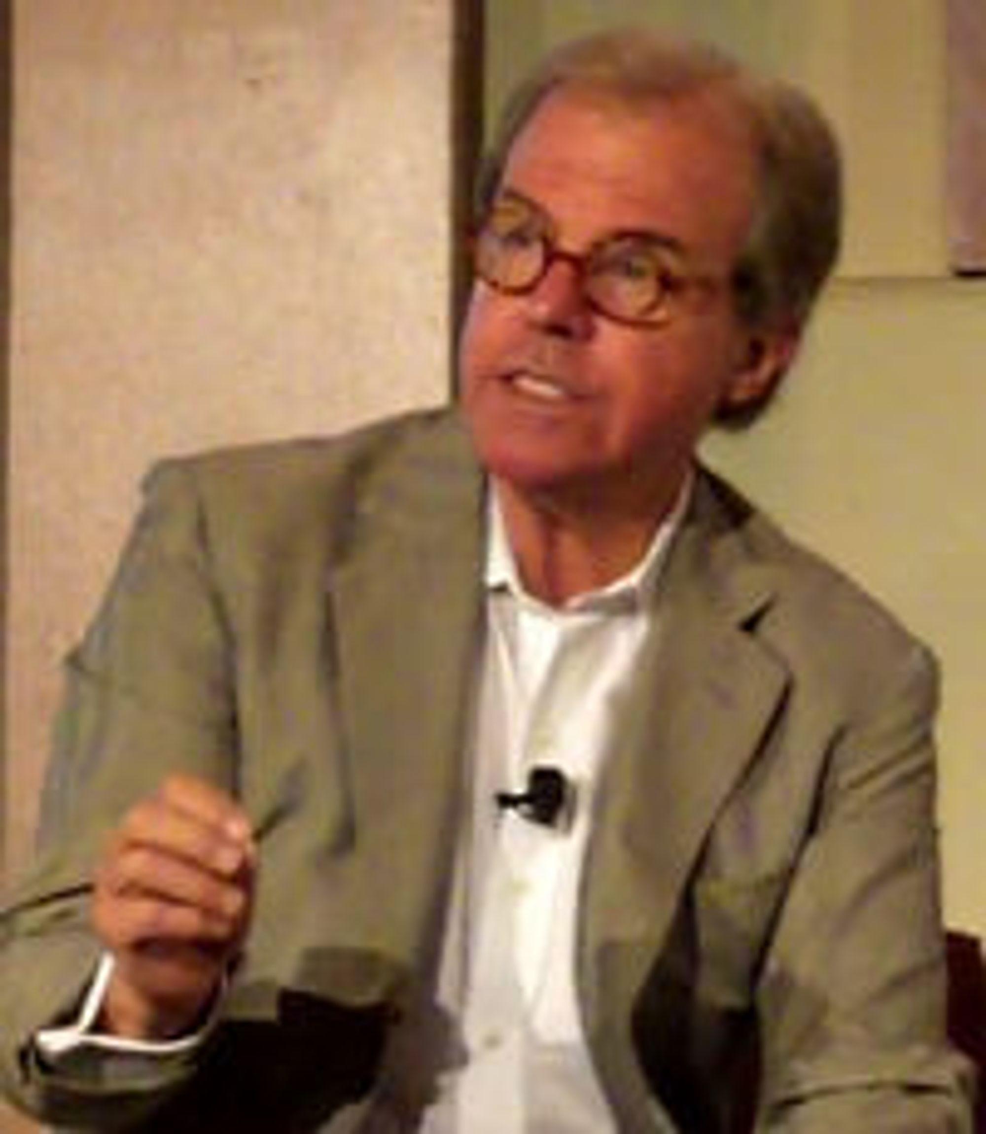 OLPC-initiativtaker Nicholas Negroponte.