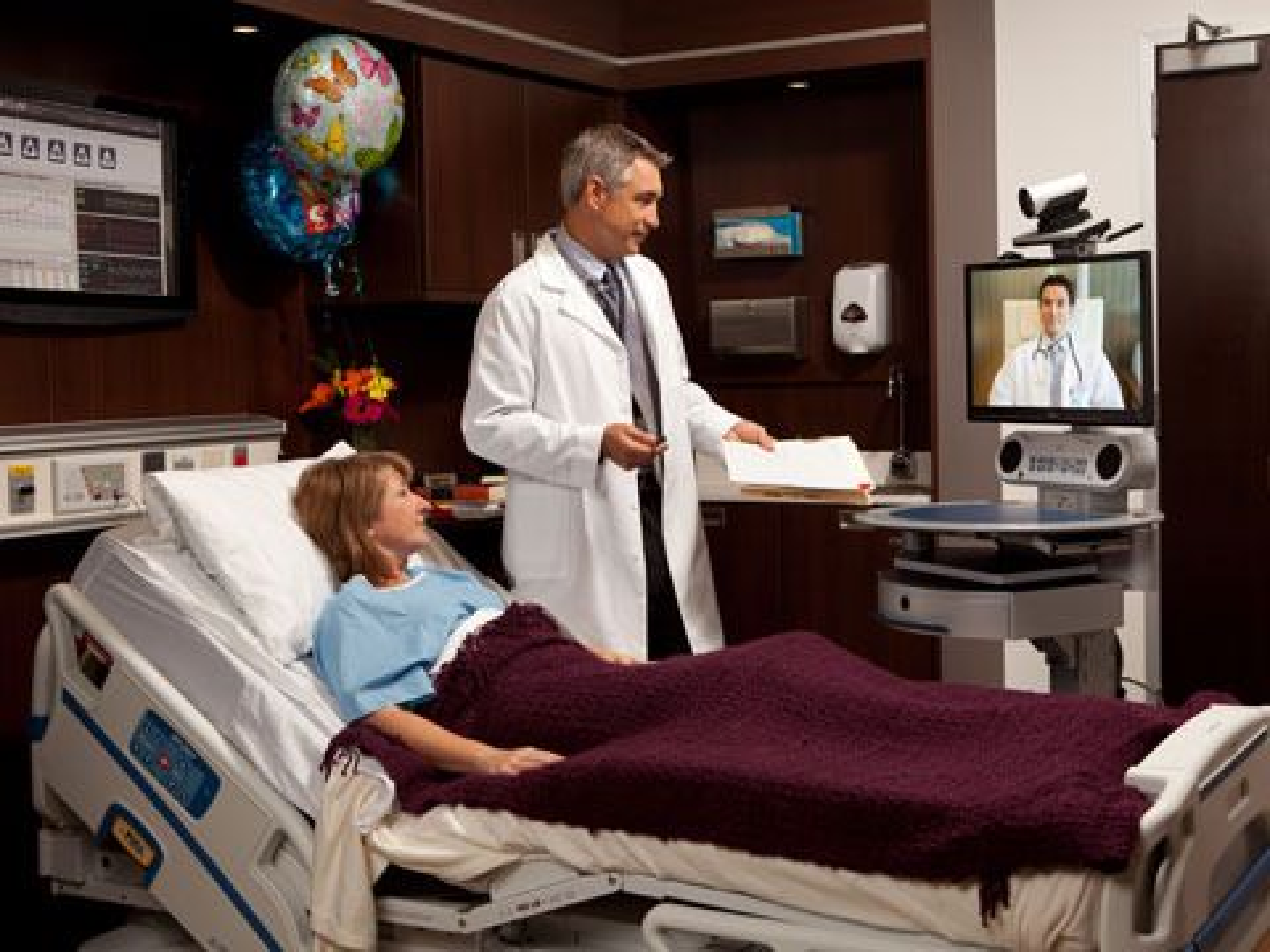Cisco Telepresence VX Clinical Assistant i bruk.