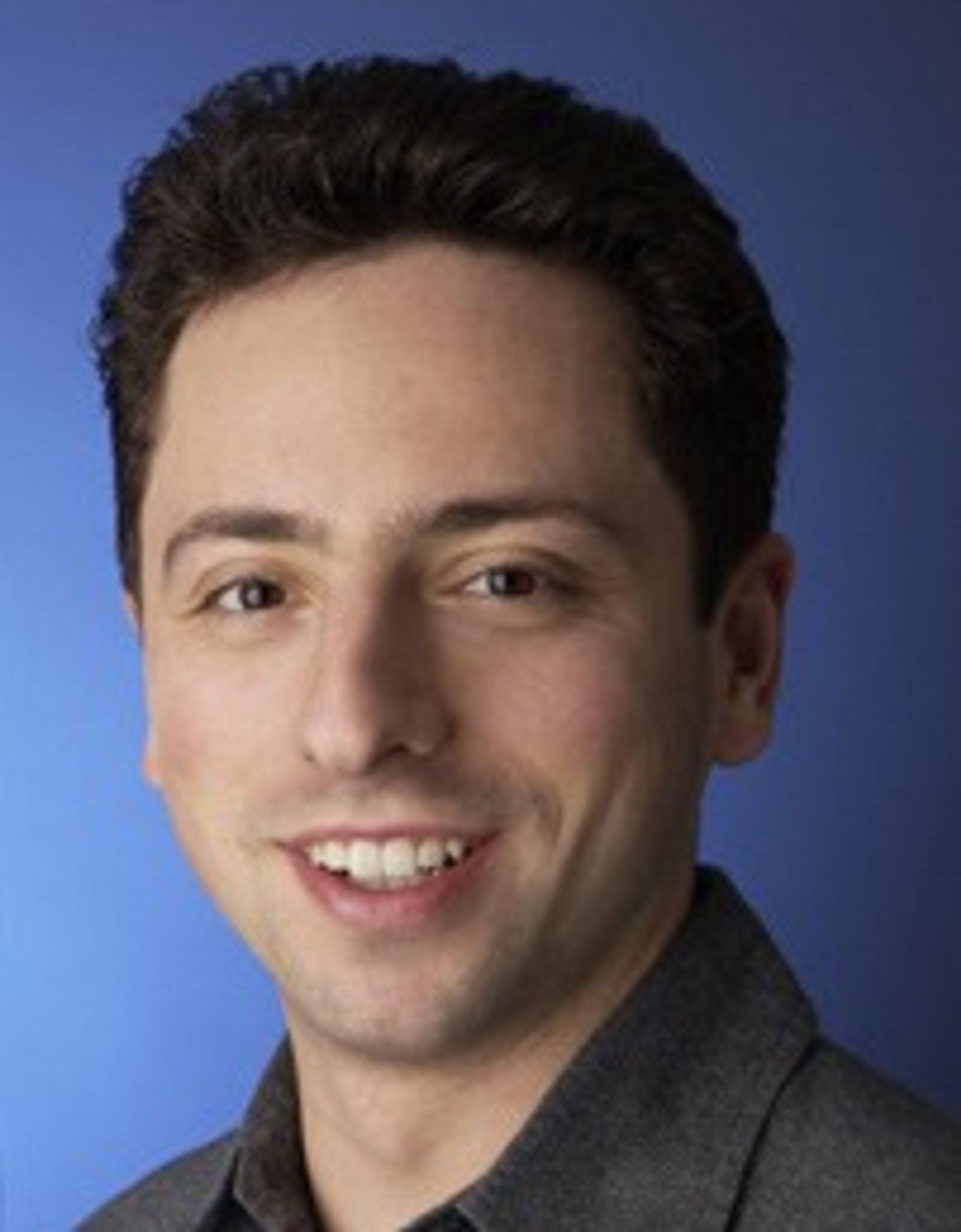 Medgründer i Google, Sergey Brin.