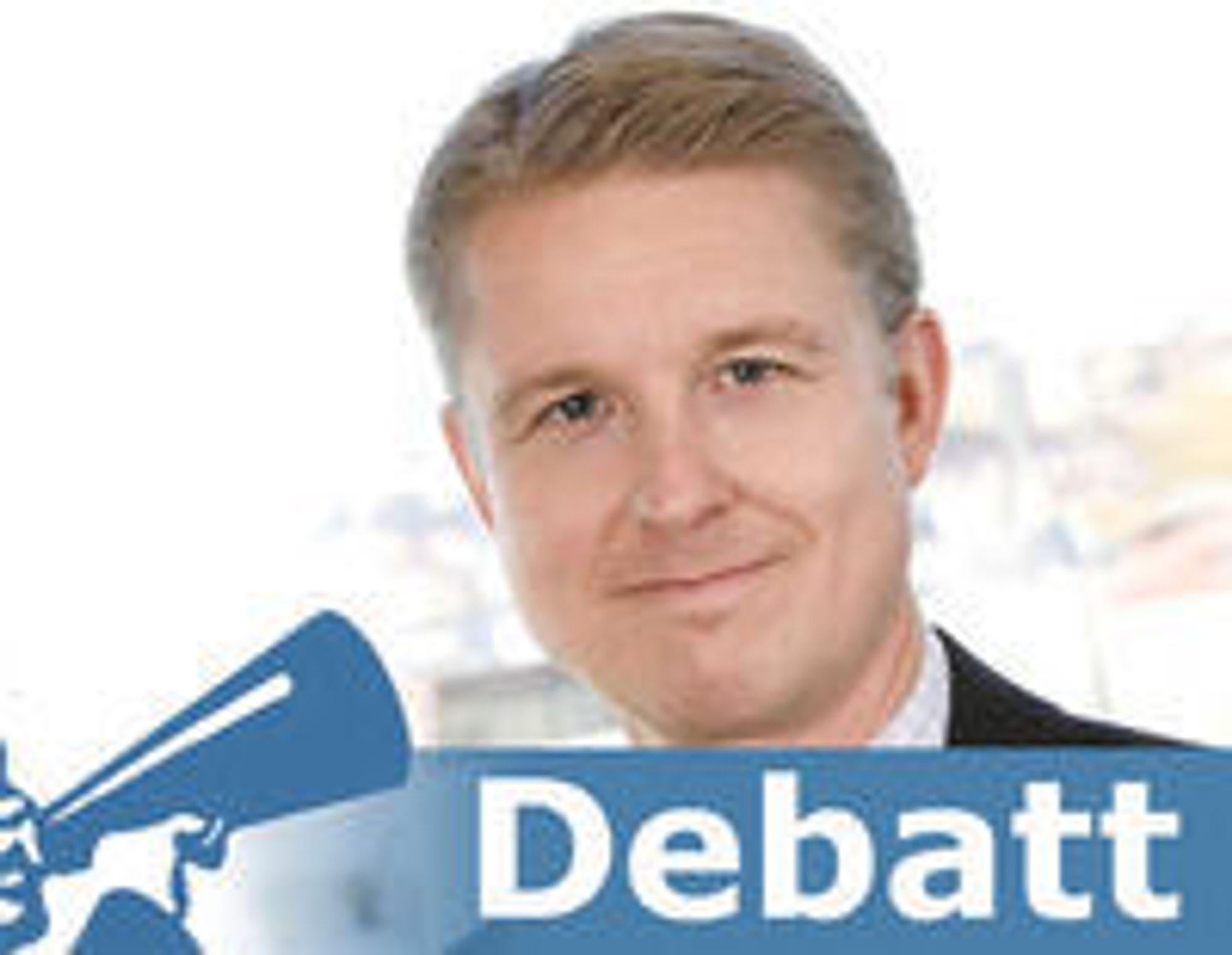 Jan Sandtrø er juridisk direktør i EDB ErgoGroup.