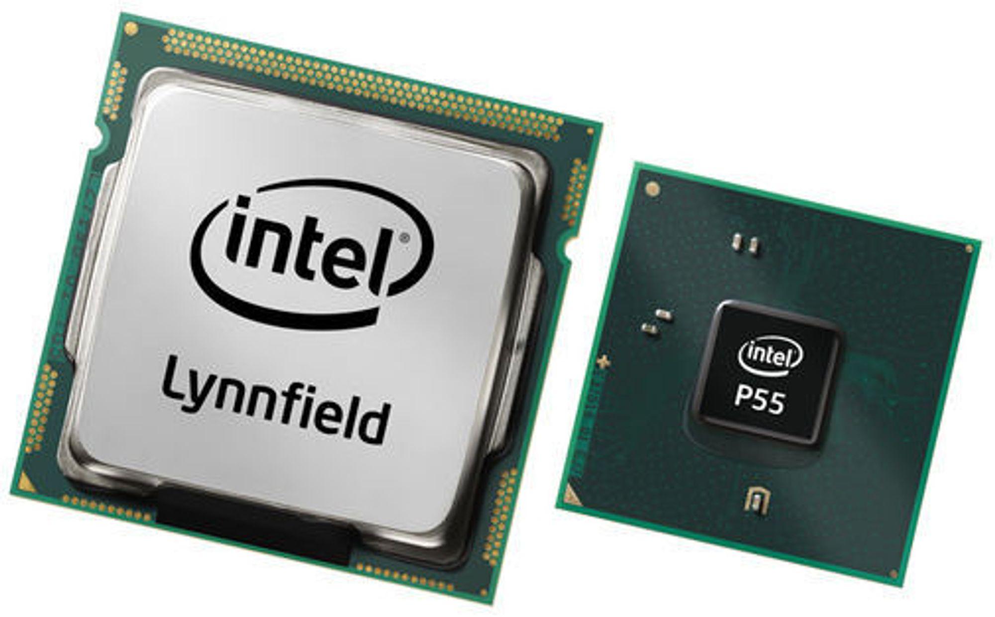 Intel Core i5 «Lynnfield» og brikkesettet Intel P55
