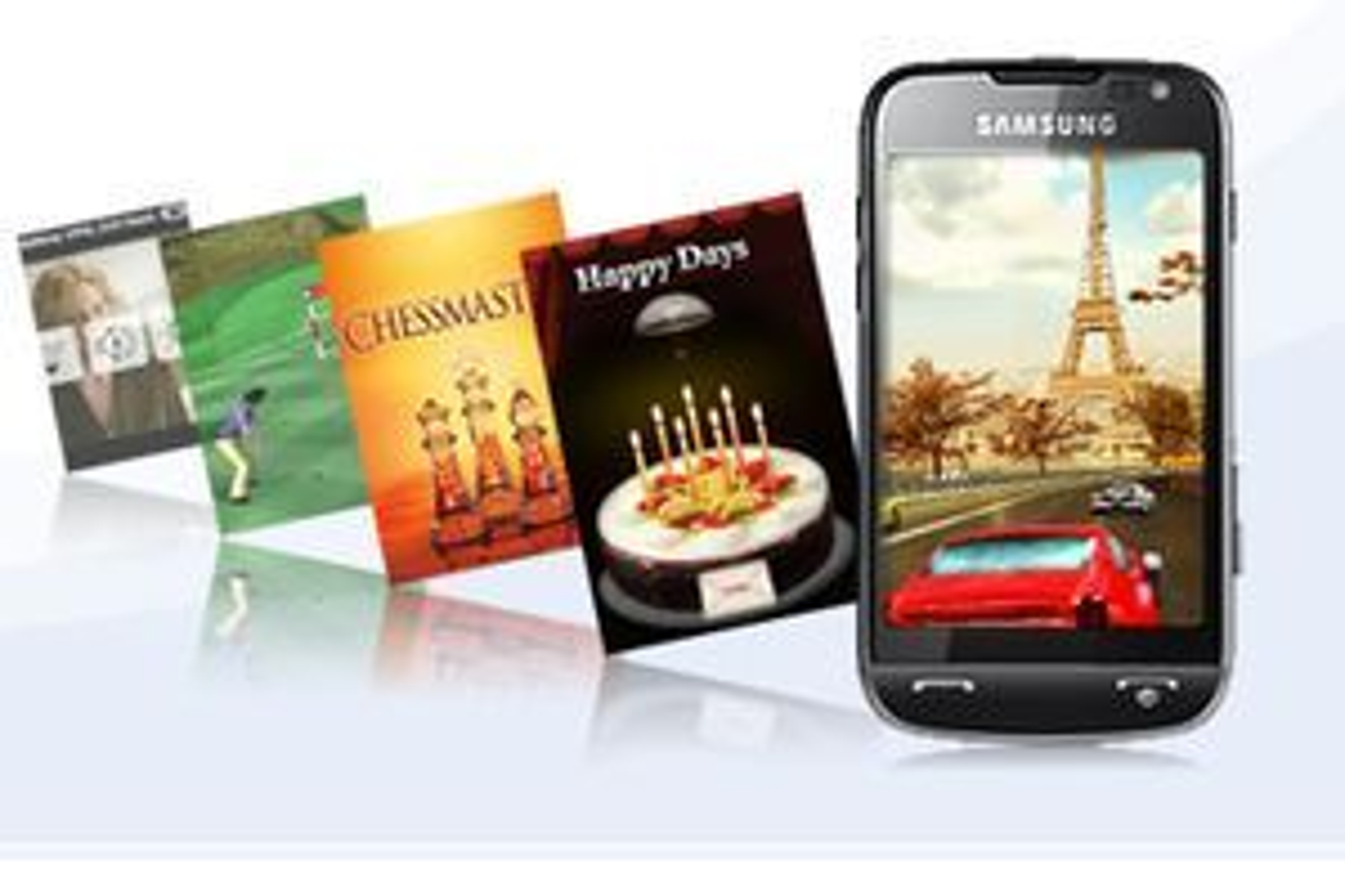 Applikasjoner til Samsungs Omnia-familie