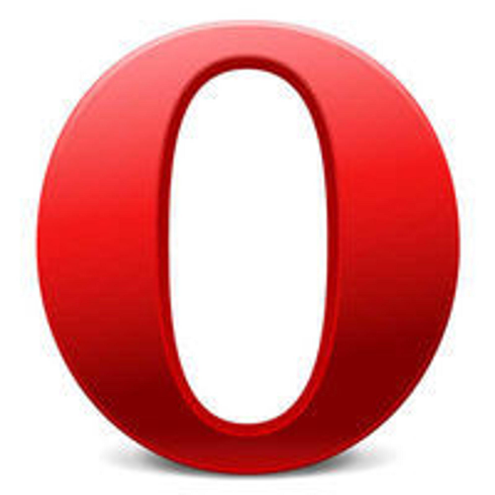 Opera nye logo er mer moderne enn tidligere og har et uttrykk mer i tråd med hva konkurrentene benytter.