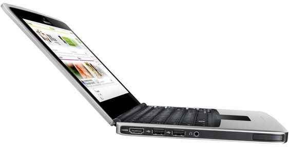 Offisielt bilde av Nokia Booklet 3G.