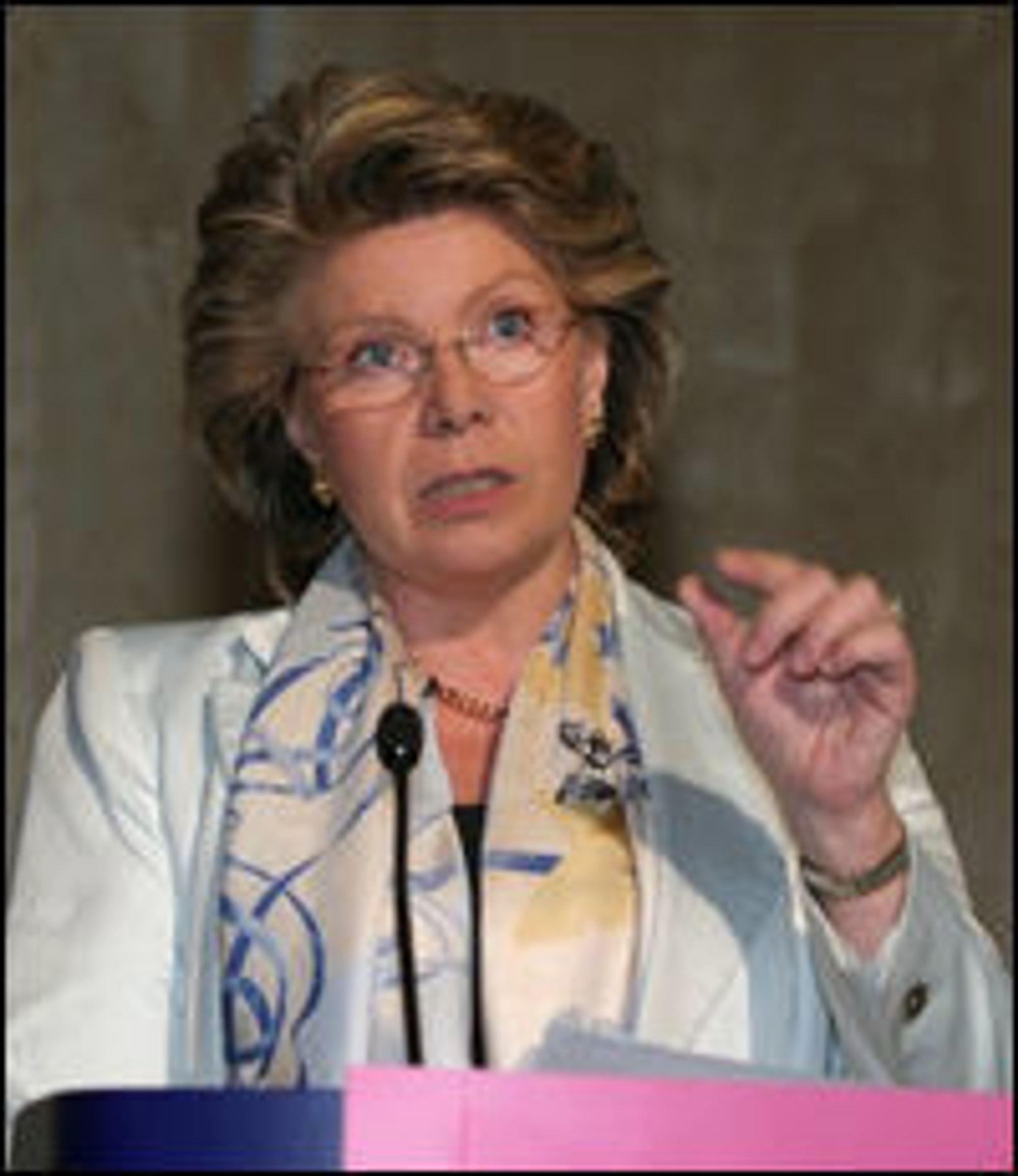 EU-kommissær Vivane Reding