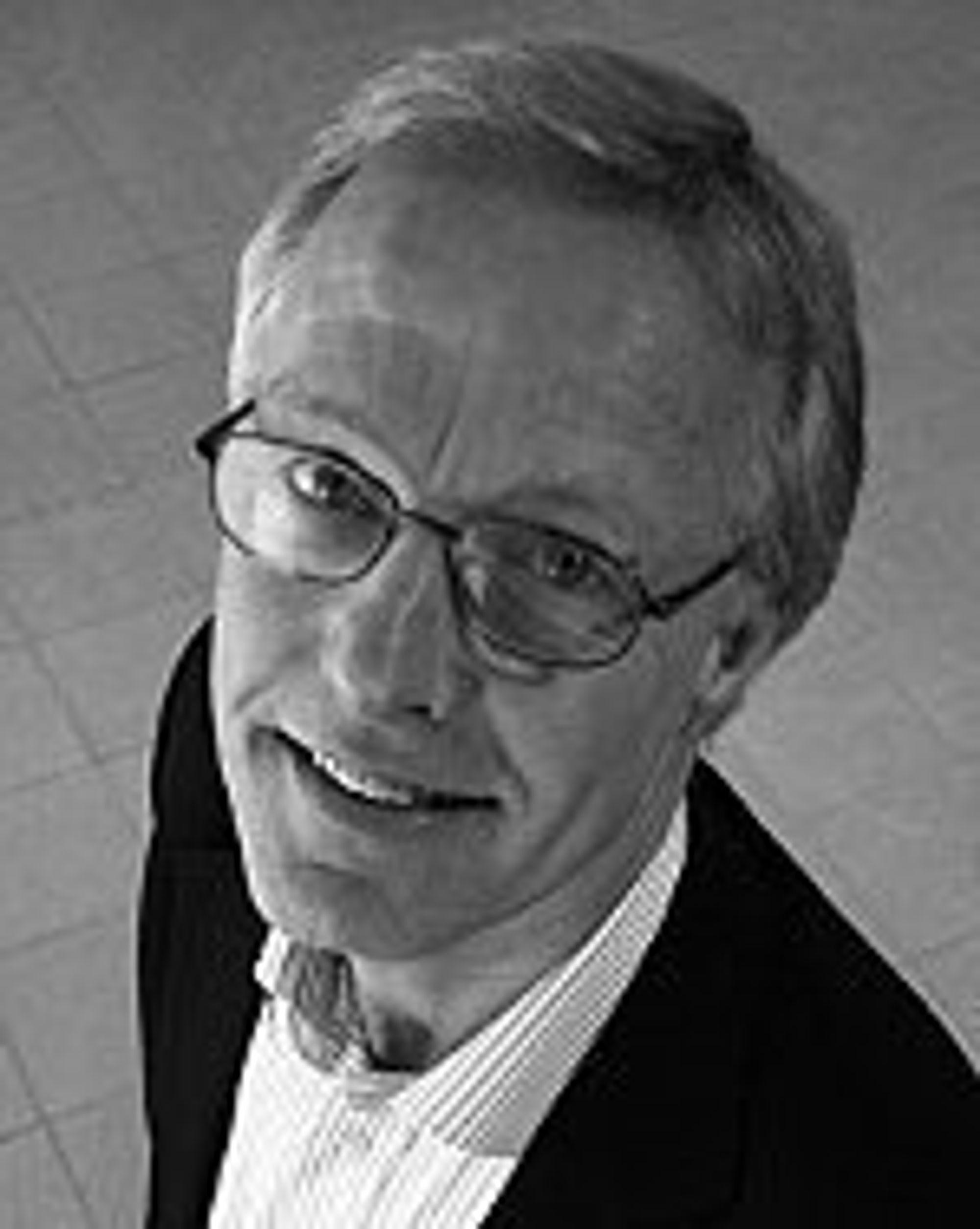 Lykkelig for at dataproblemene er over: Administrerende direktør Torbjørn Almlid i Norsk Tipping.