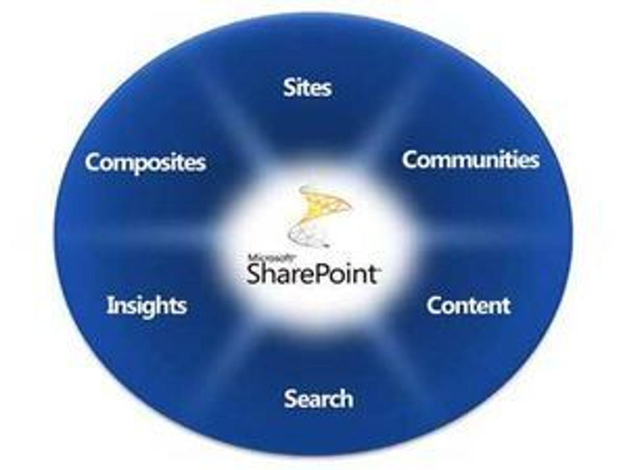 Microsoft Sharepoint er blant selskapets aller viktigste produkter, blant annet med tanke på tjenester gjennom nettskyen.