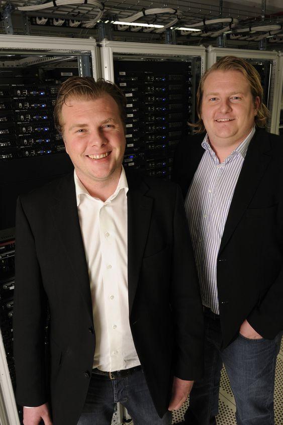 Administrerende direktør Johan Hedlund og markeds- og salgssjef Daniel Hedlund i Ipeer AB lover norske kunder «mest for pengene».