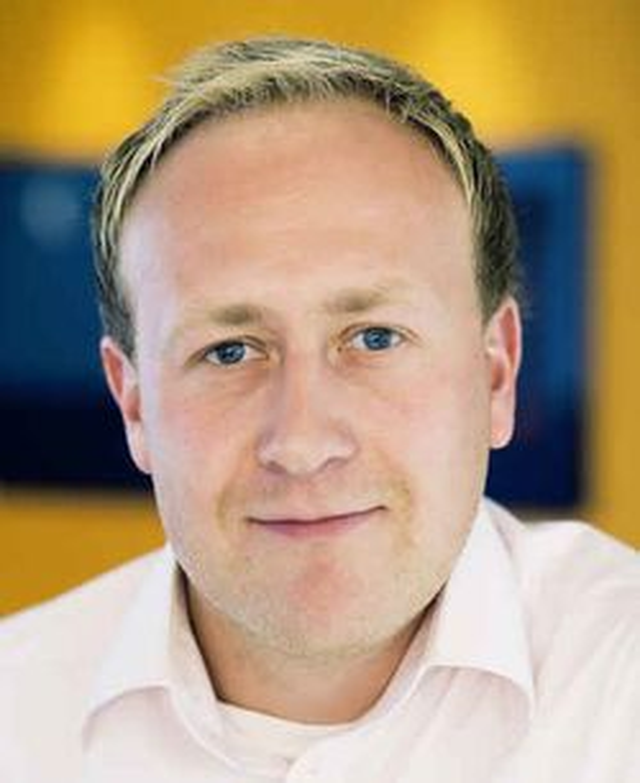 Kommunikasjonssjef Øyvind Vederhus i Netcom