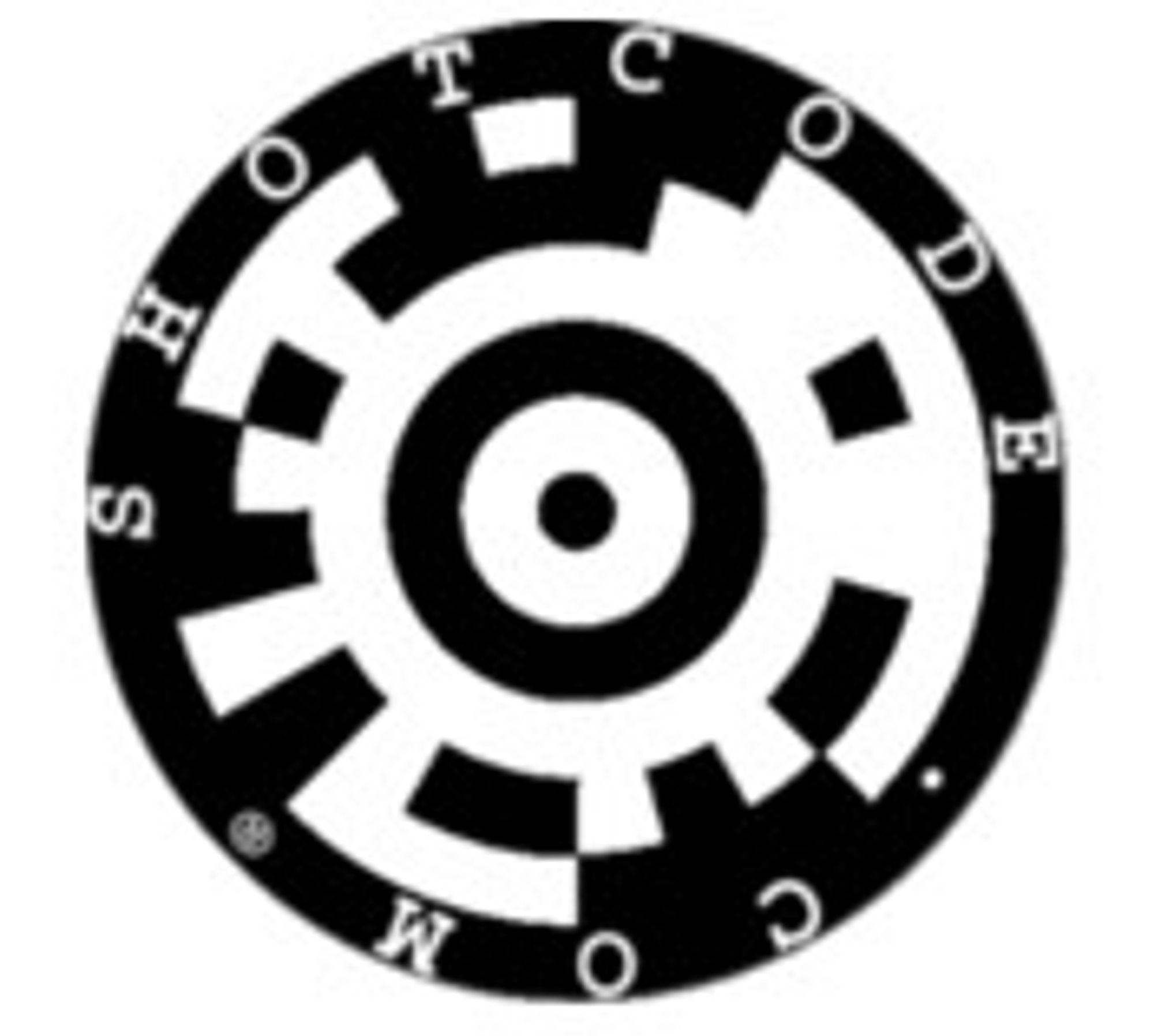 Eksempel på ShotCode