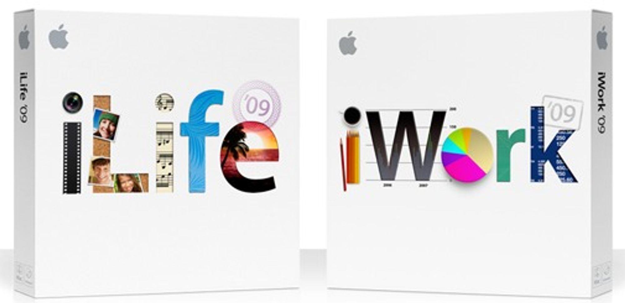 Nye utgaver av iLife og iWork er det Apple selv legger mest vekt på i sine referater fra Macworld.