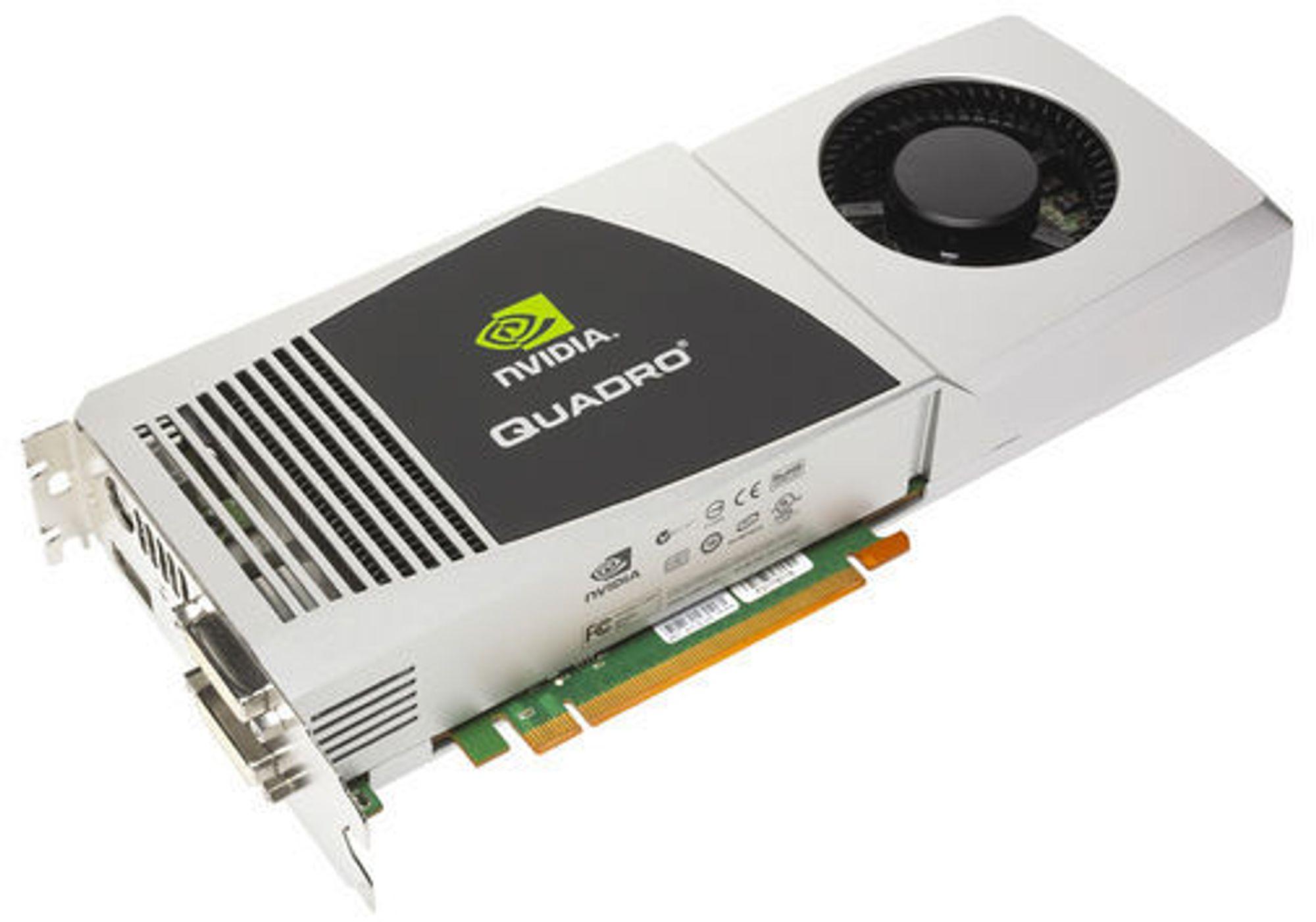 Nvidia Quadro FX 5800 konseptmodell