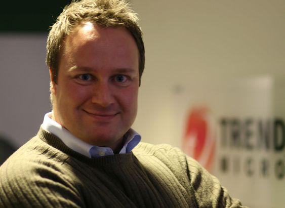 Norgessjef Thomas Næss i sikkerhetsselskapet Trend Micro.