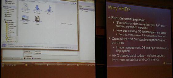 Virtuelle harddisker som maskinen kan boote fra er en viktig komponent i Windows 7, og den kan bli ekstra viktig på sikt i forbindelse med Microsofts store satsning på å bygge en gigantisk nettsky.
