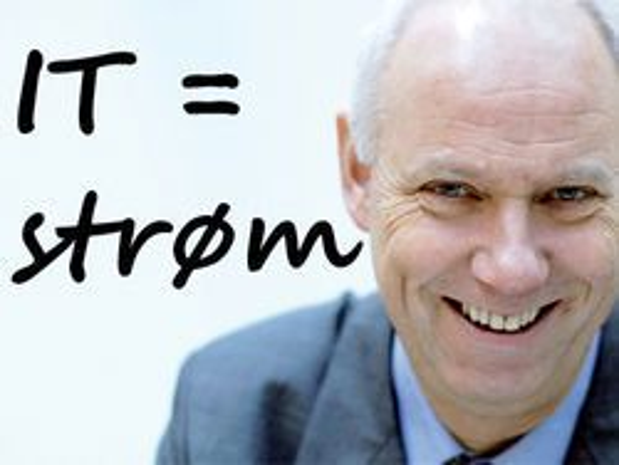 Ergogroup og Håvard Larsen vil gjøre det like enkelt å kjøpe IT-tjenester som å kjøpe strøm.
