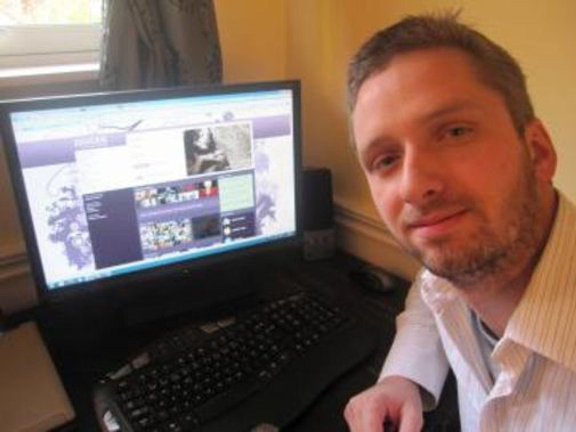 Juuger-gründer Svein-Erik Bjørnstad søker talenter til sin nye nettjeneste.