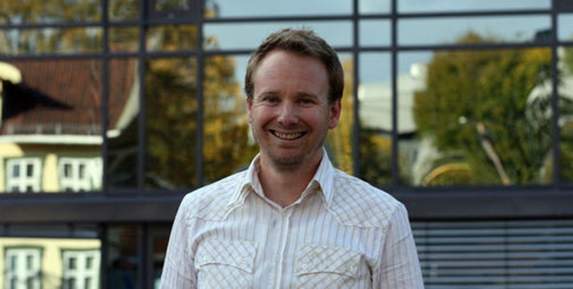 Espen Weum leder Netcoms mobildataprogram, og er kanskje Telenors beste kunde.