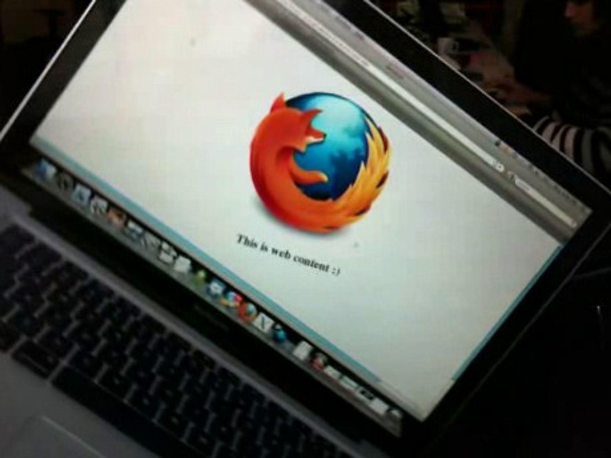 Firefox 3.6 får støtte for akselerometeret i bærbare maskiner.