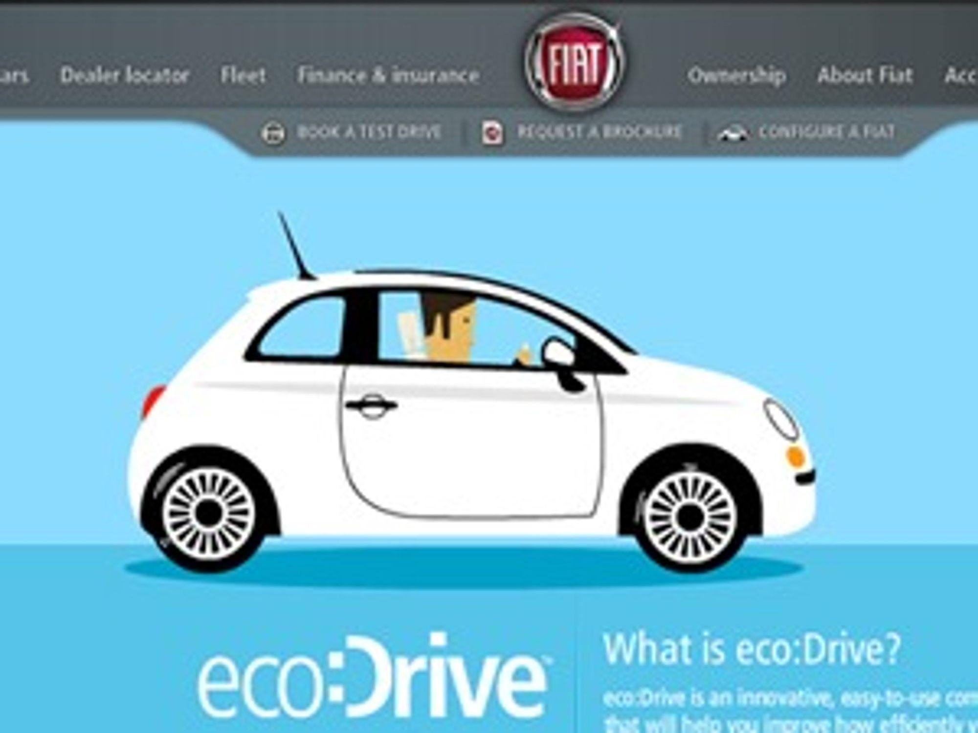 Fiat ecodrive er et eksempel på framtidsrettet nettsted, ifølge Kenny Bogø i Adobe.