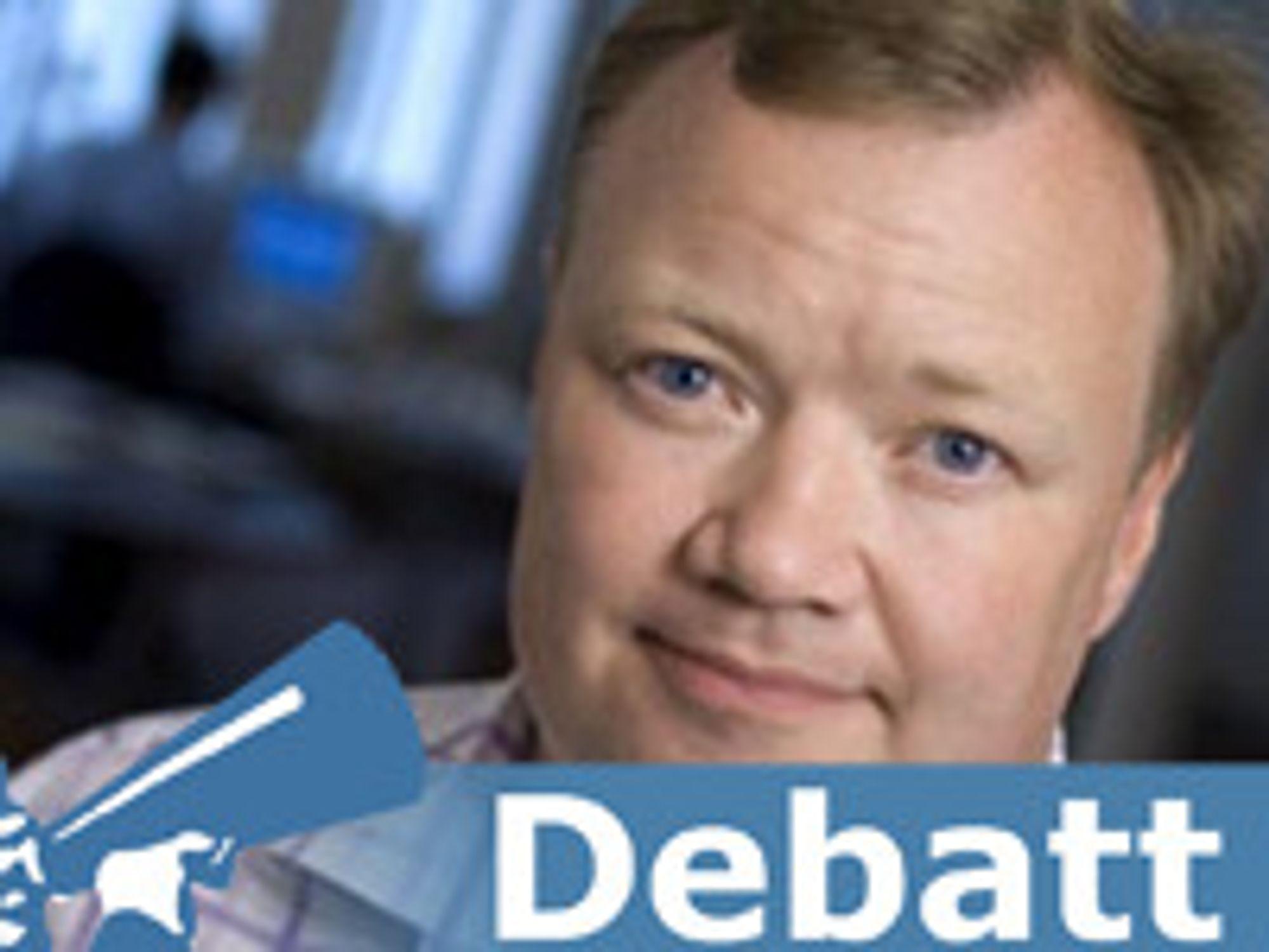 John Strand er teleanalytiker og driver det uavhengige danske konsulentselskapet Strand Consult.