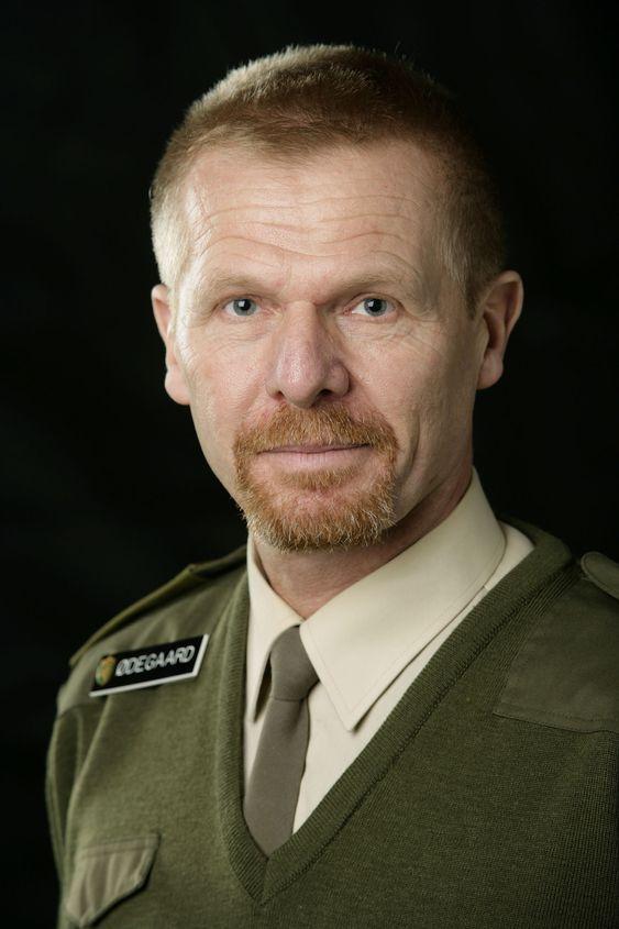 Sjef for LOS, brigader Jan Christian Ødegaard.