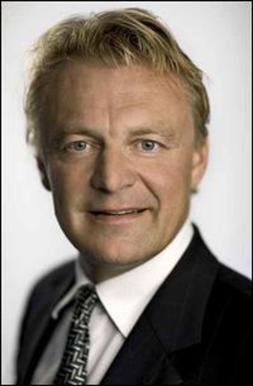 Claus Hougesen, konserndirektør i Atea, kunne presentere sterke tall for andre kvartal.