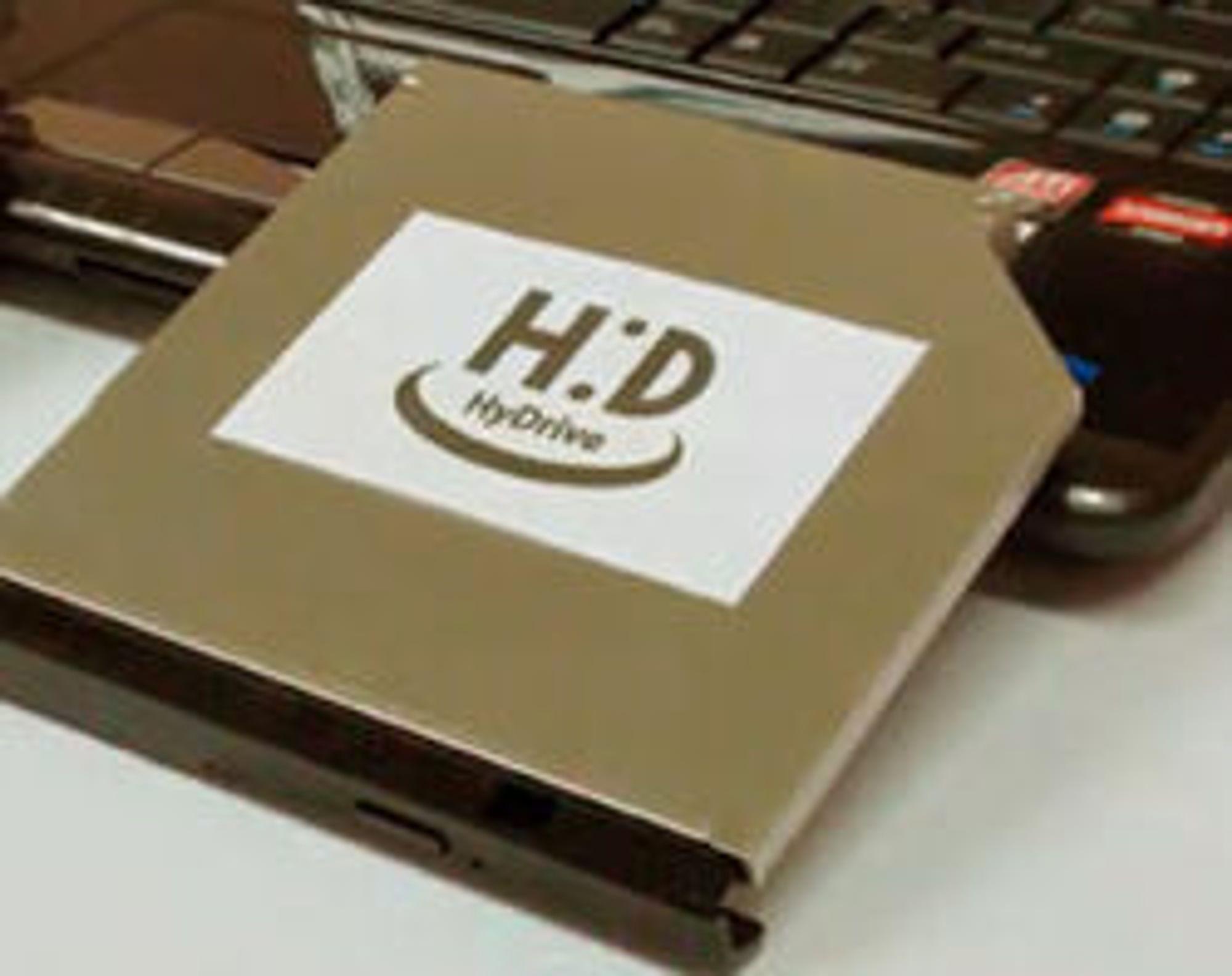 HyDrive fra Hitachi-LG Data Storage.