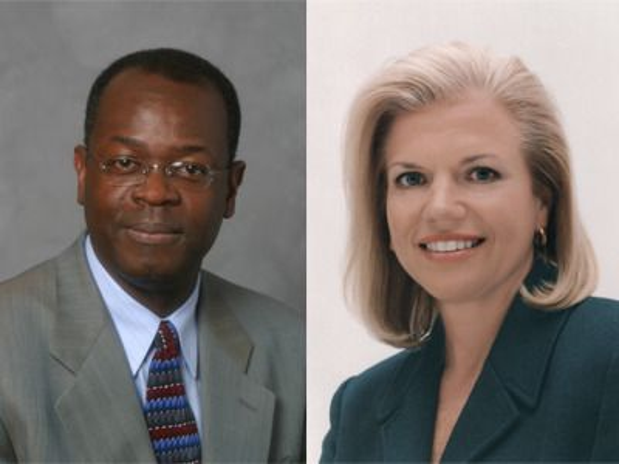 Om IBM utnevner Rod Adkins eller Ginni Rometty til ny toppsjef etter Sam Palmisano neste år, vil det være historisk.
